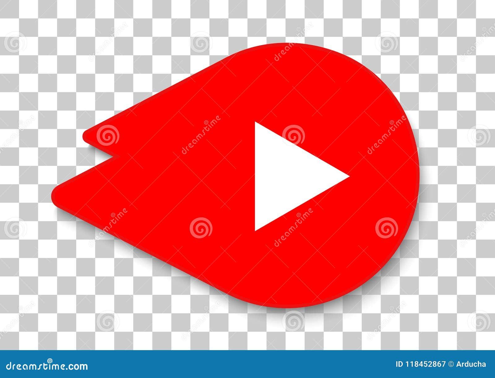 Youtube go icon apk editorial photography  Illustration of