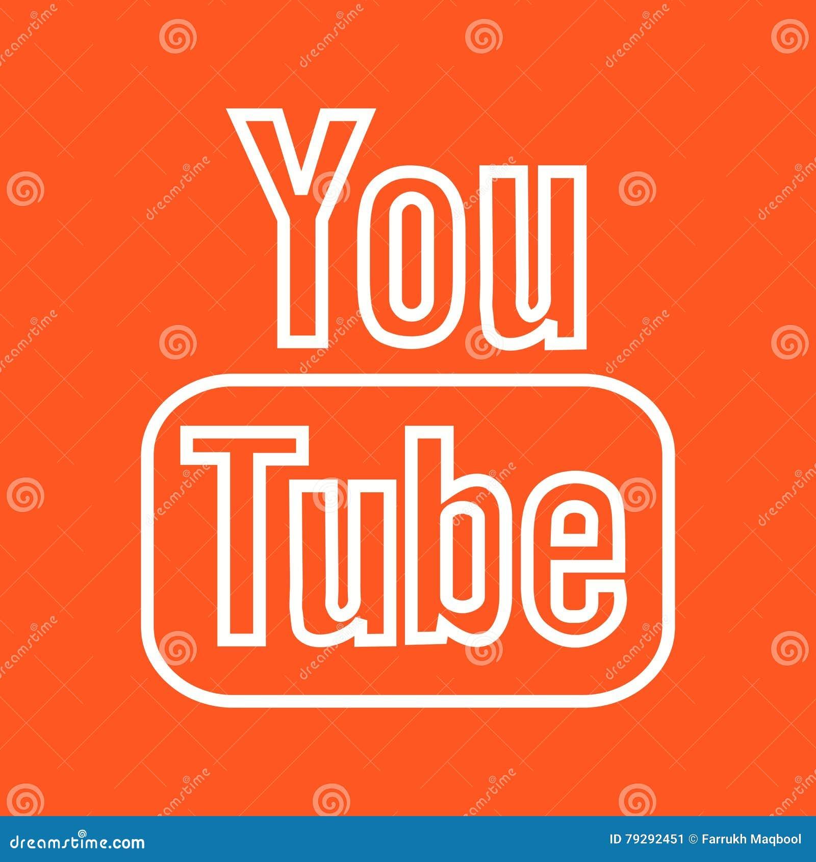 Youtube Ii Editorial Photo Illustration Of Design Movie 79292451