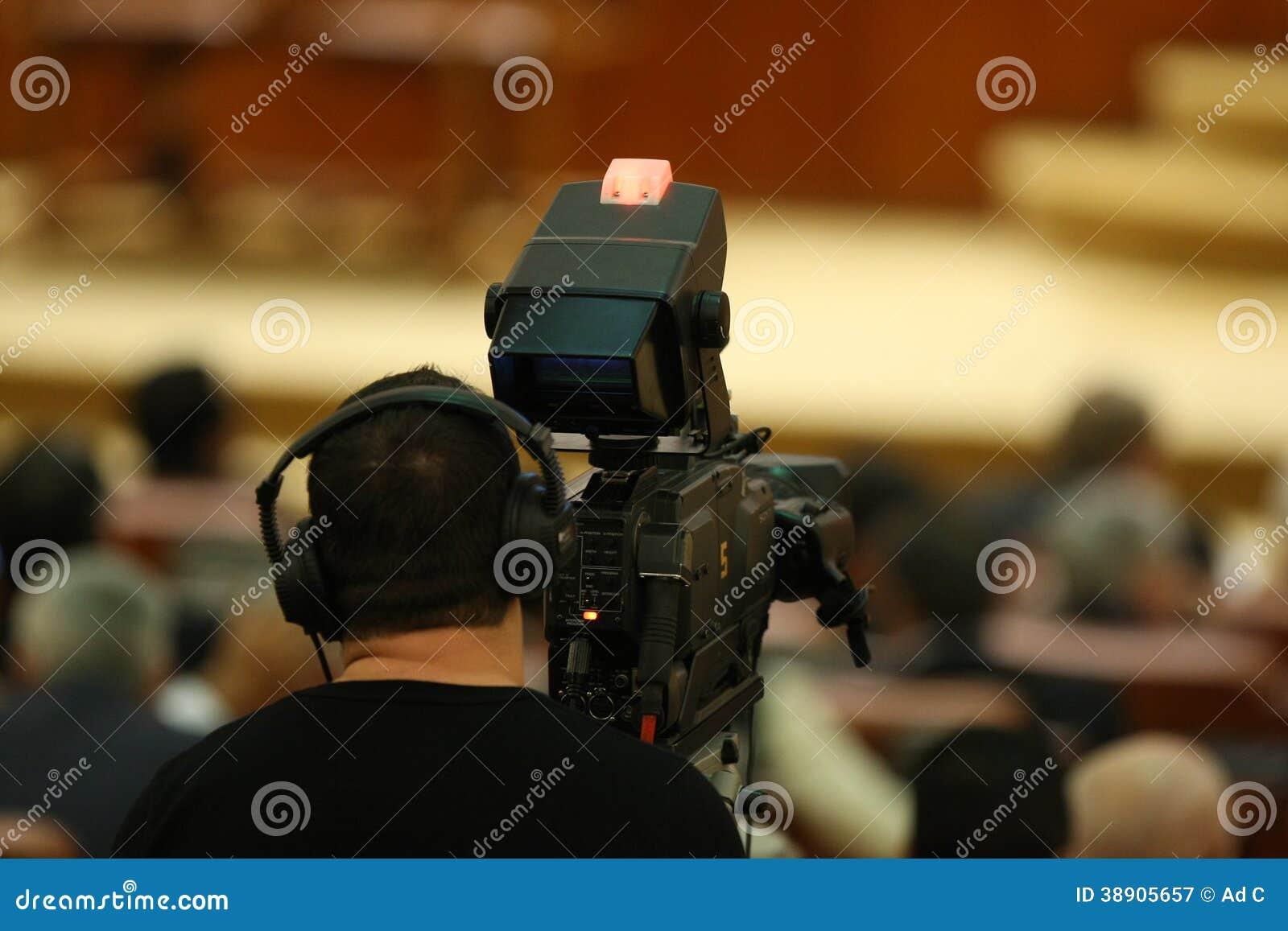 Yrkesmässig kameraman
