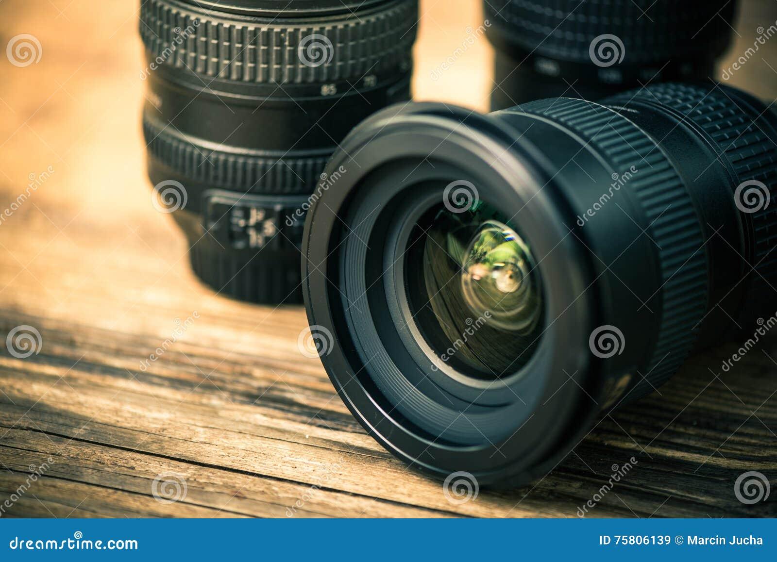 Yrkesmässig lins för digitalt fotografi