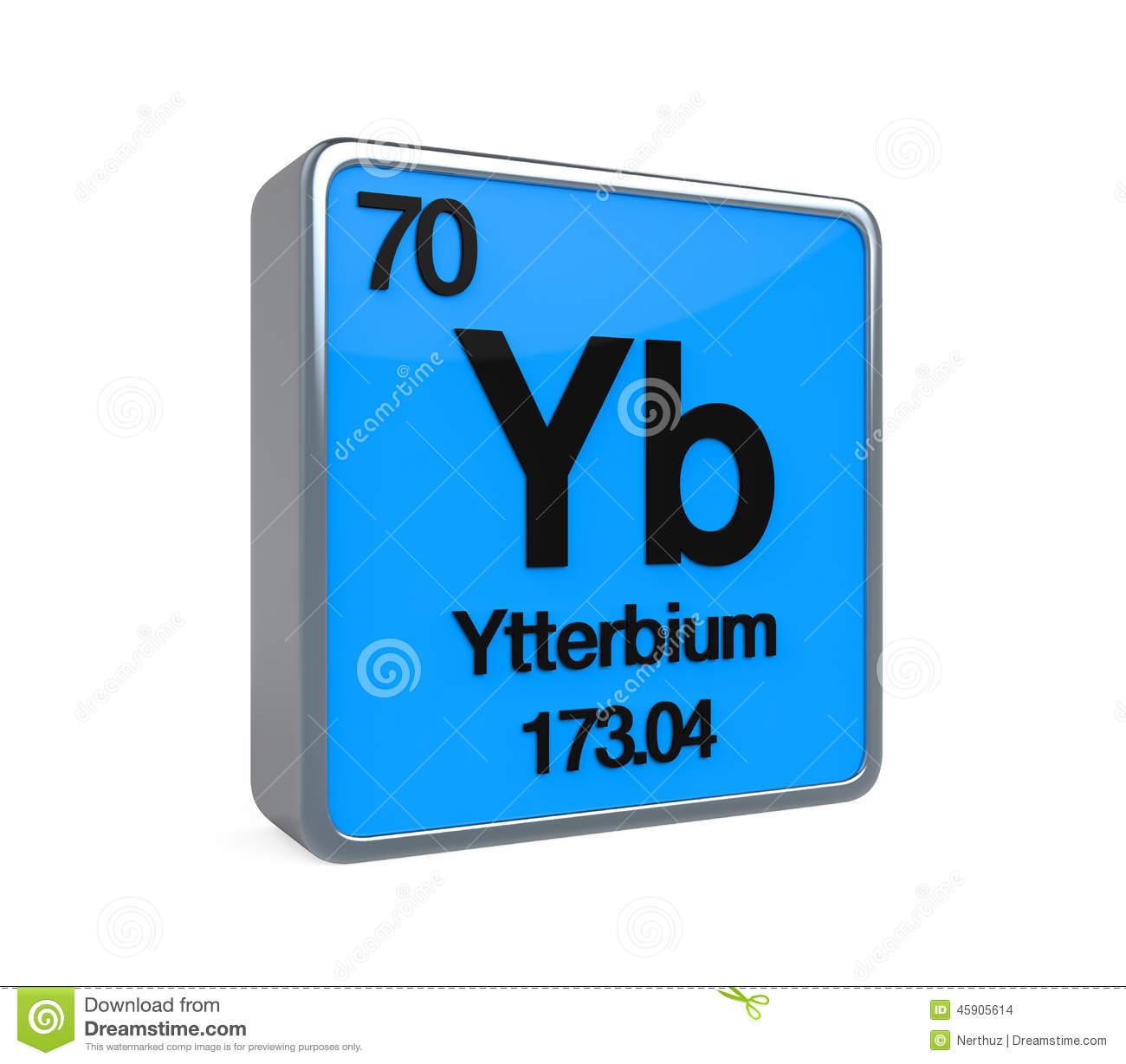 Ytterbium element periodic table stock illustration image 45905614 ytterbium element periodic table urtaz Gallery