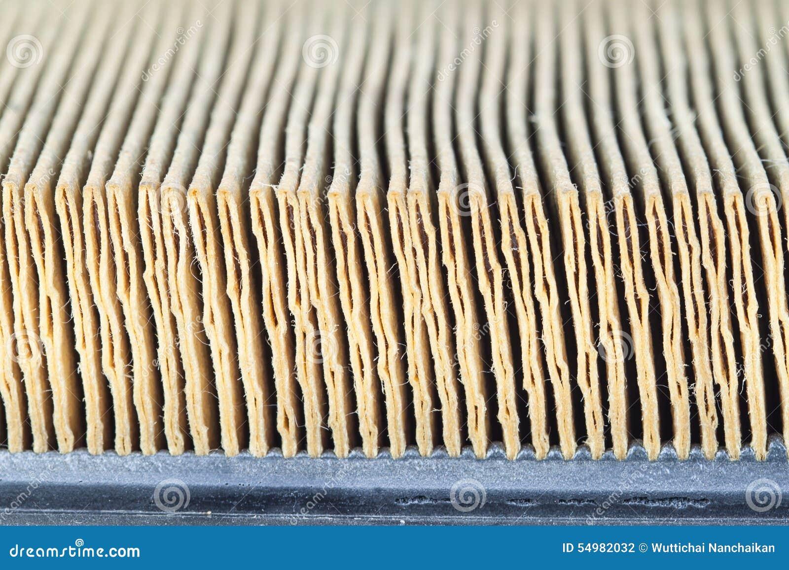 Yttersida för luftfilter
