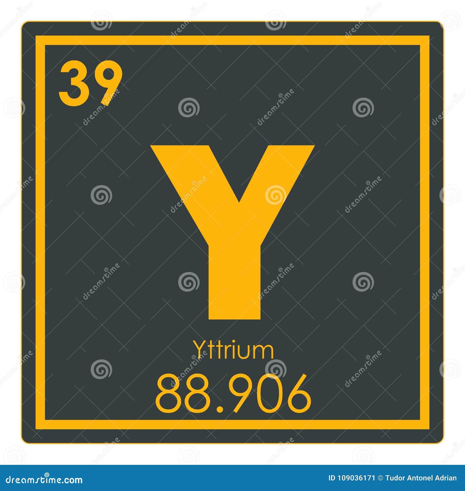 Yttrium chemical element stock illustration illustration of download comp urtaz Choice Image
