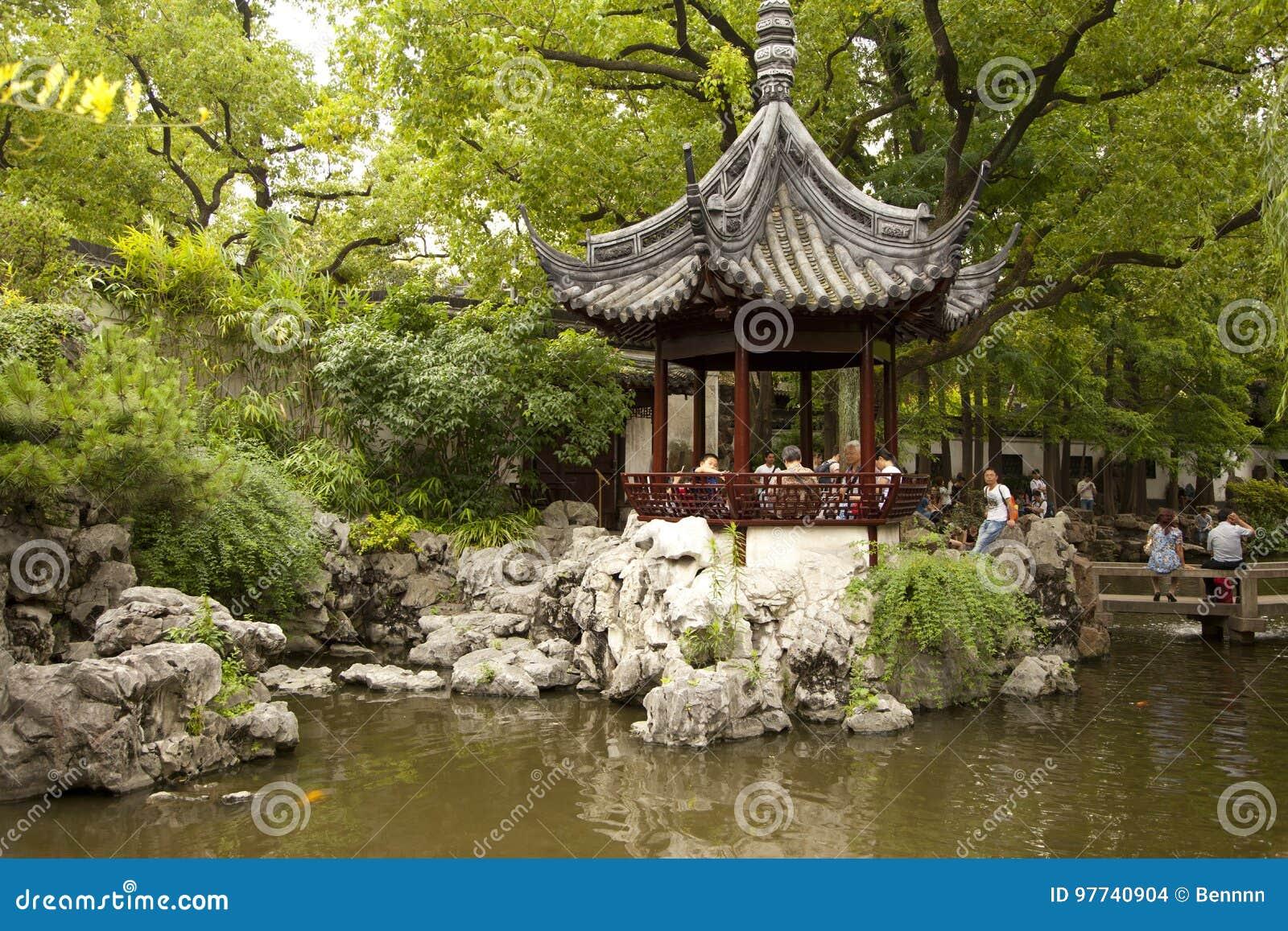 Yu Yuan Garden In Shanghai China Editorial Stock Image Image Of