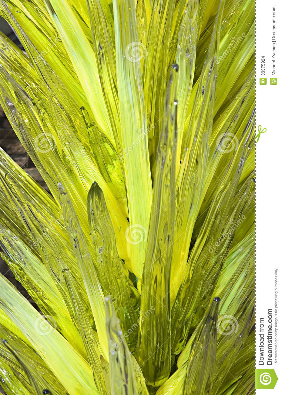 Yucca Glass Sculpture Editorial Stock Image Image 33375924