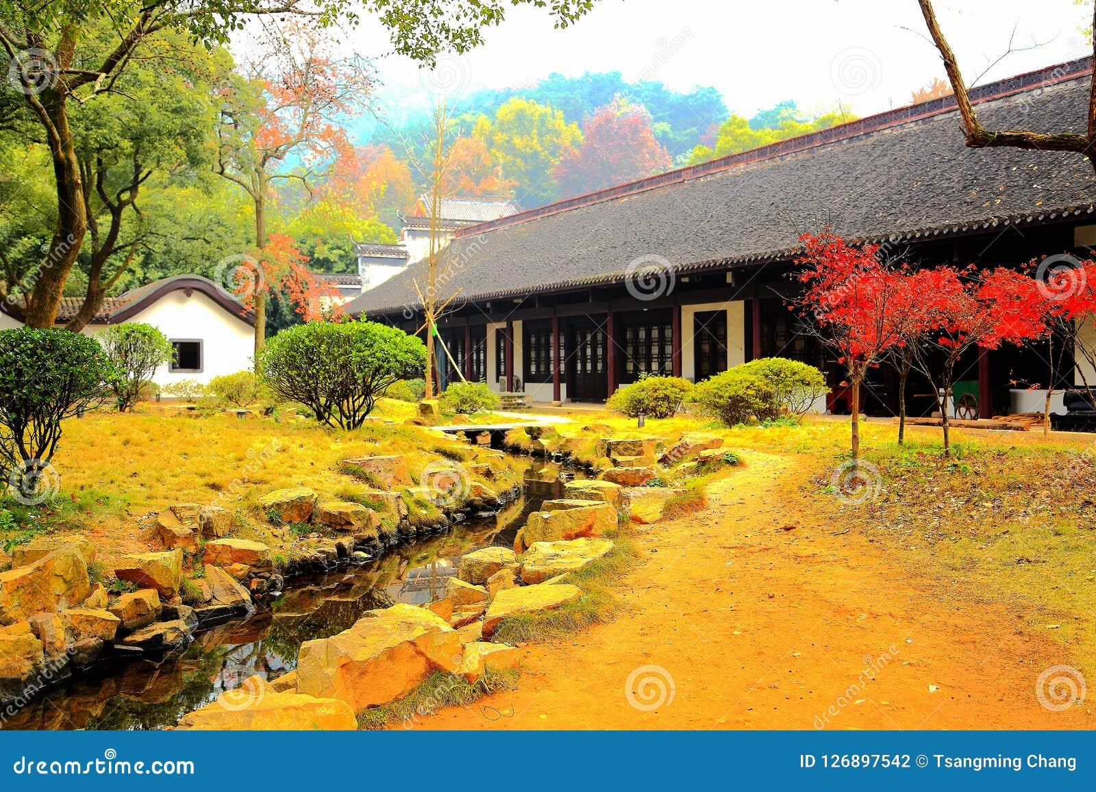 The Yuelu Academy In Yuelu Mountain In Changsha City Stock