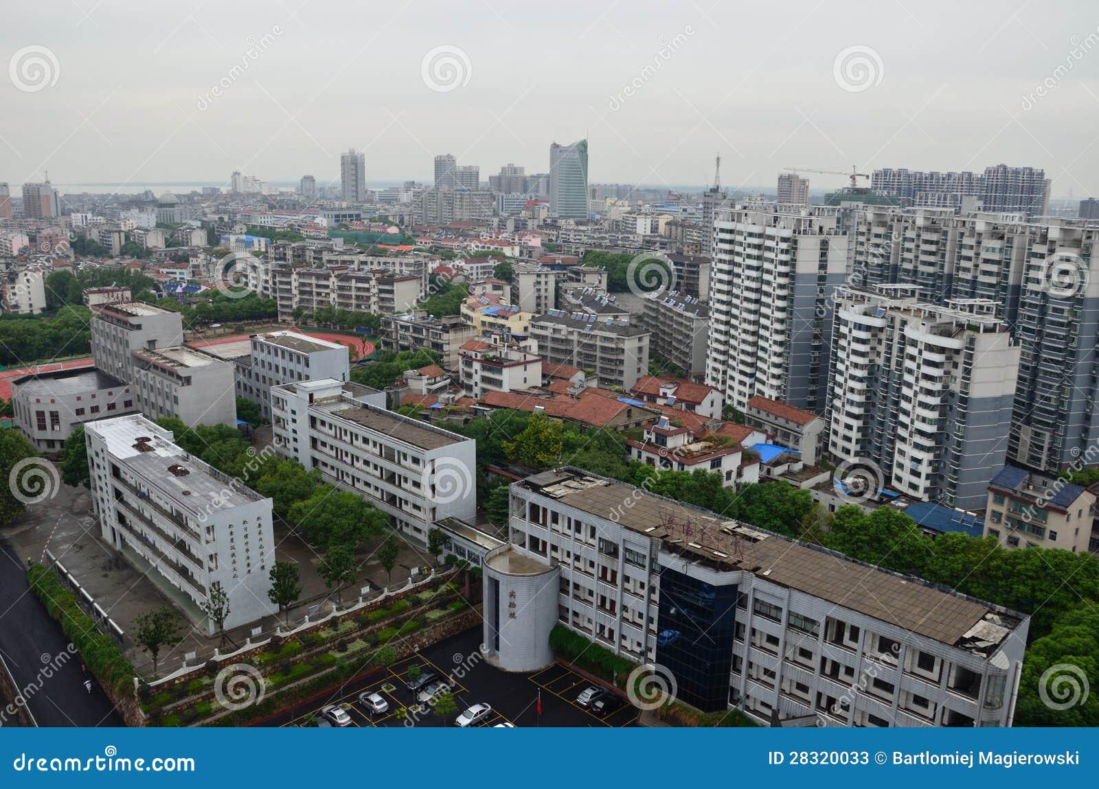 Yueyang China  city images : YUEYANG, CHINA SEPTEMBER 13: YueYang city in Hunan province, general ...