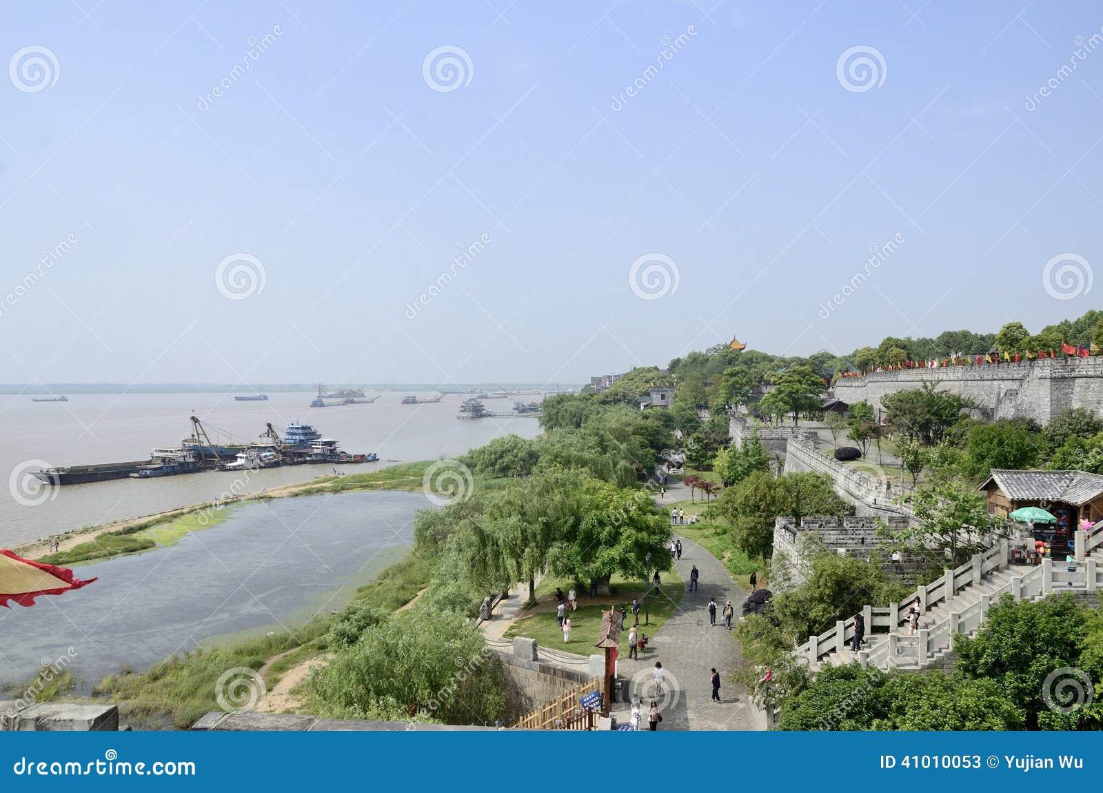 Yueyangstad, de provincie China van Hunan