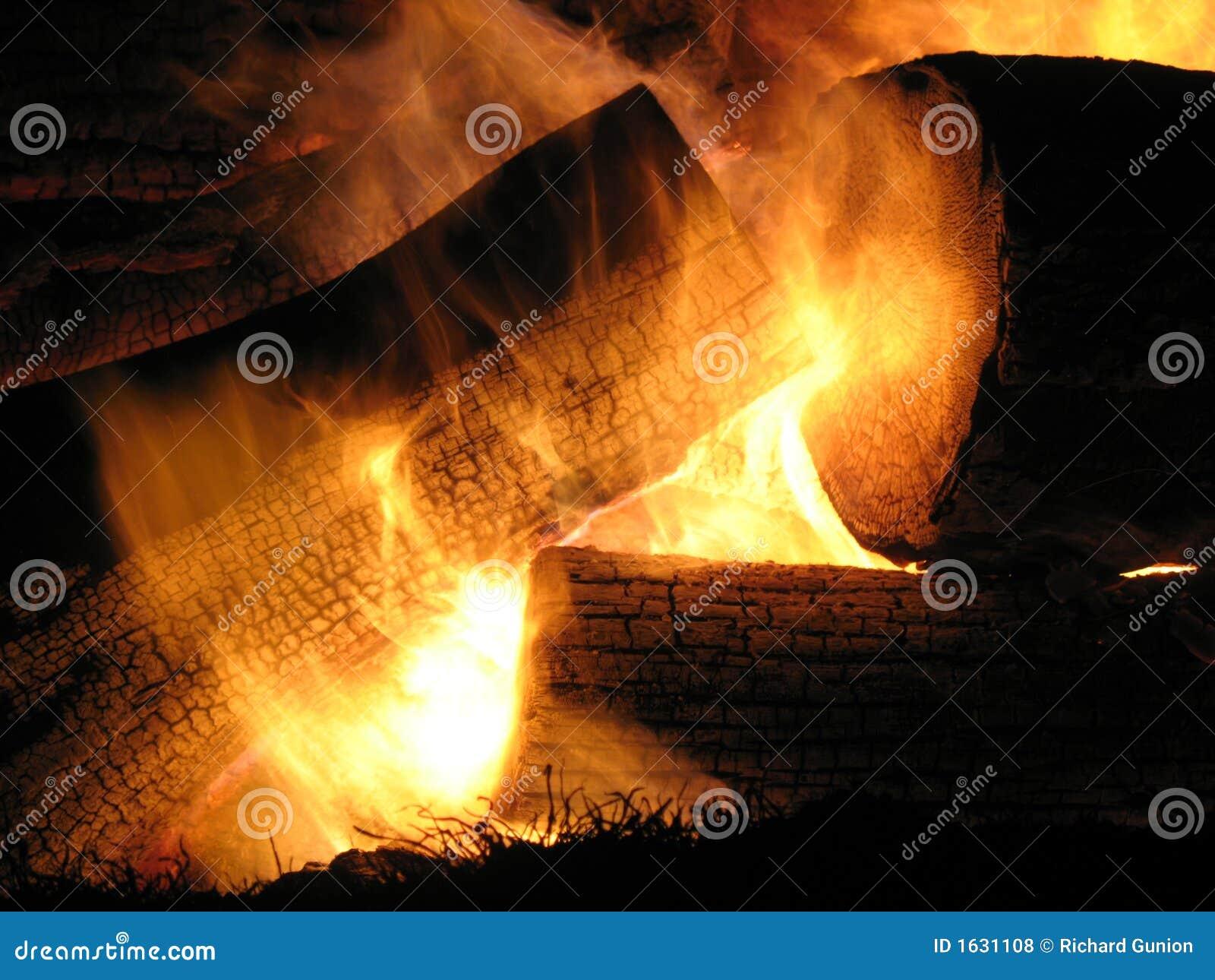 Yule Log Fire