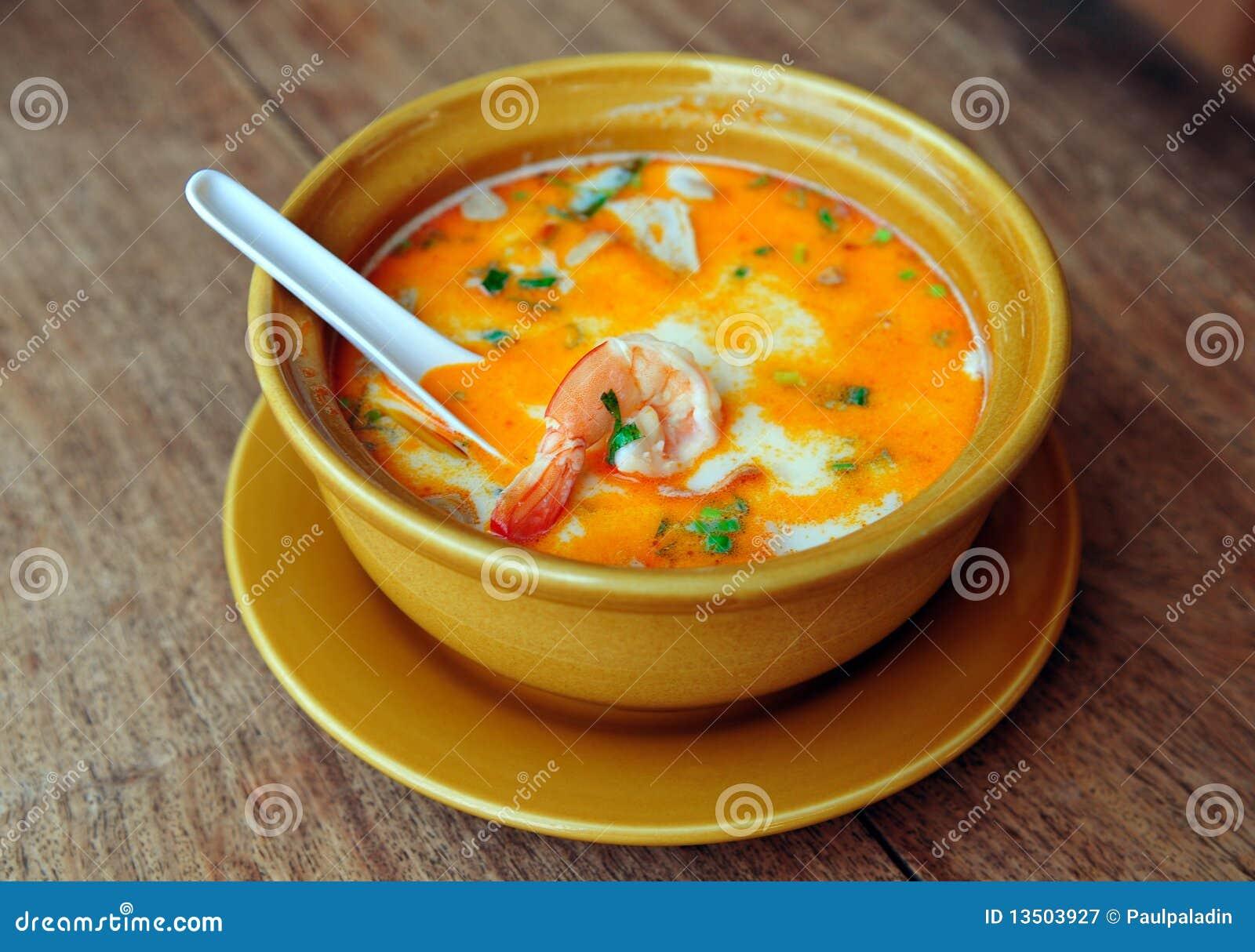 Yum tom супа тайское