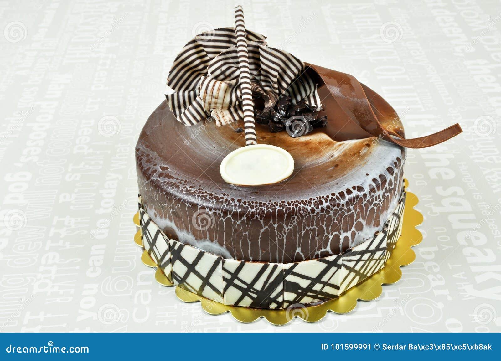 Yummy Chocolate Cake Stock Image Image Of Dish Melt 101599991