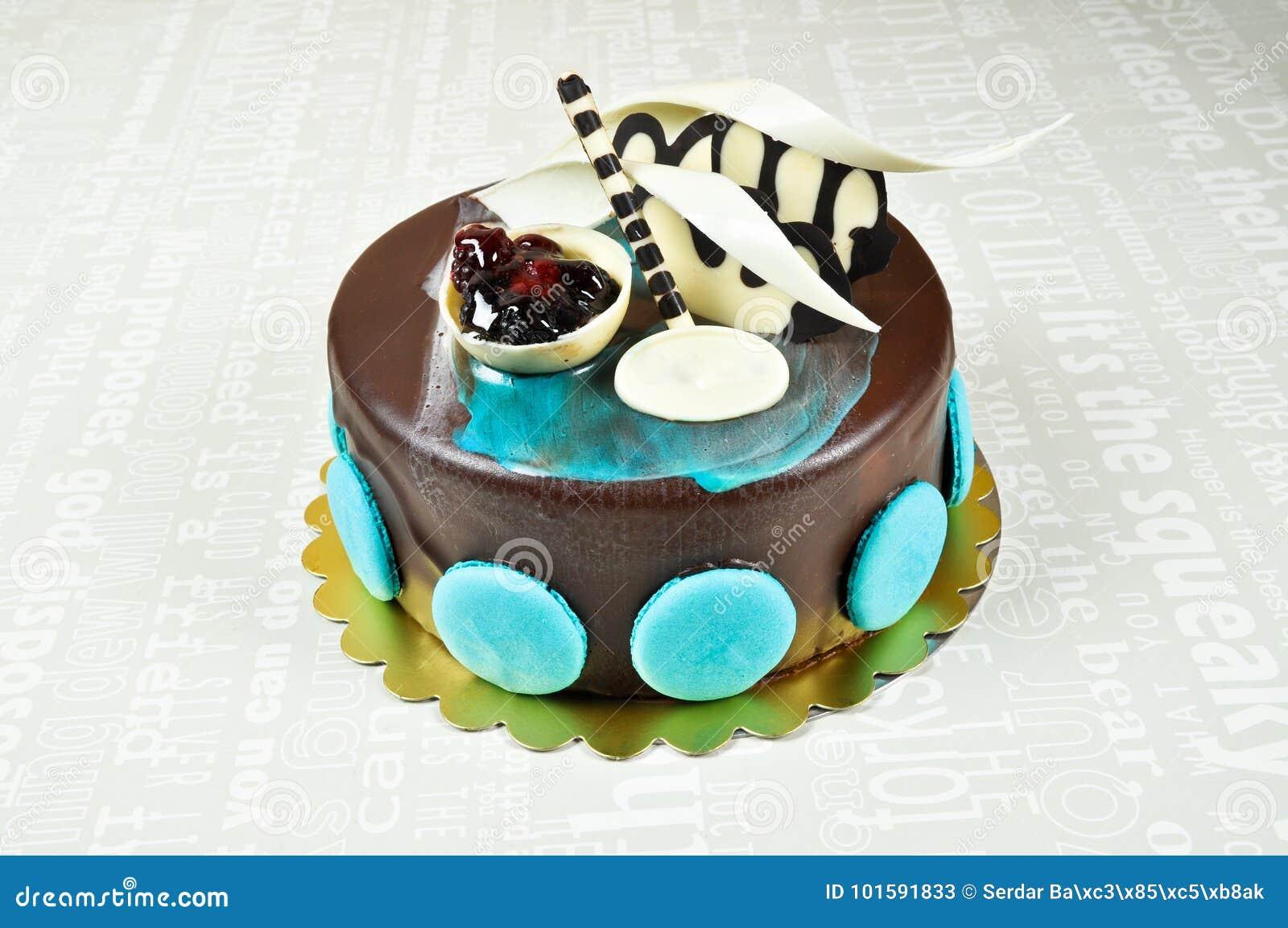 Yummy Chocolate Cake Stock Image Image Of Dessert Diet 101591833