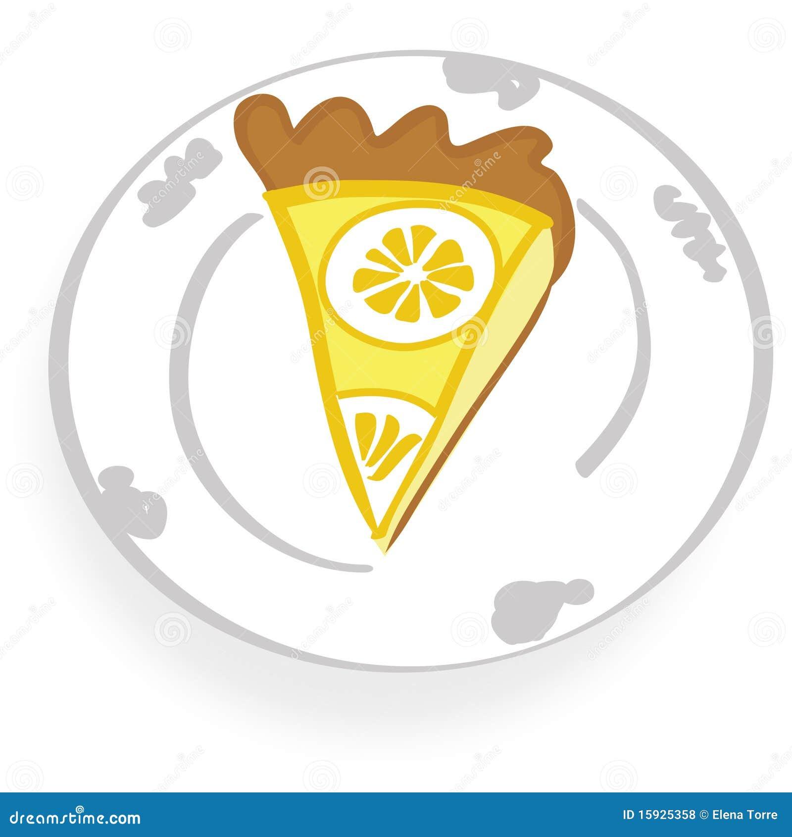 Lemon Cake Clipart
