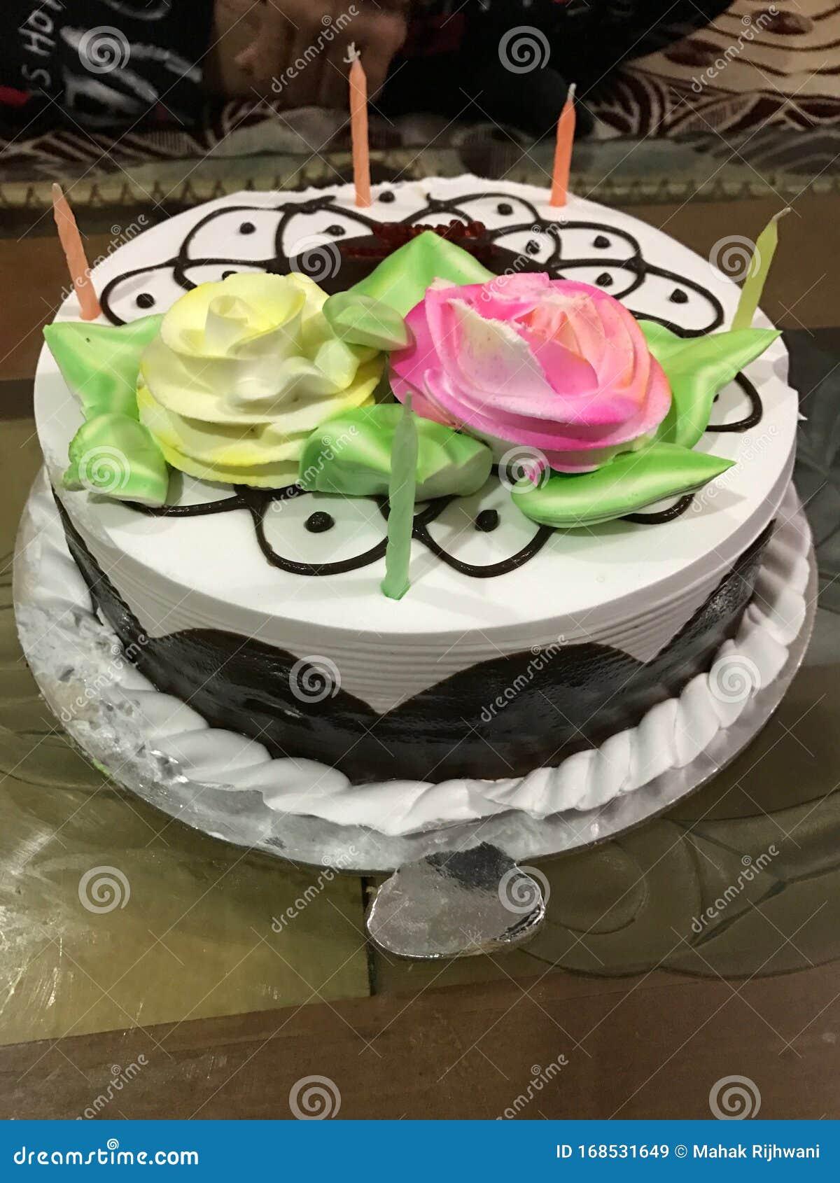 Incredible Yummy Birthday Cake Stock Image Image Of Yummy Lovery 168531649 Funny Birthday Cards Online Necthendildamsfinfo