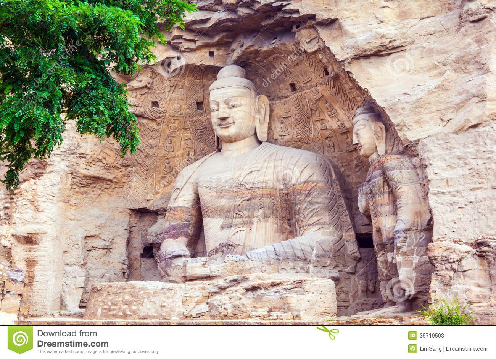 Najzanimljivije  pećine na svijetu - Page 4 Yungang-grottoes-world-cultural-heritage-one-china-s-four-most-famous-buddhist-caves-art-treasure-houses-located-datong-35719503