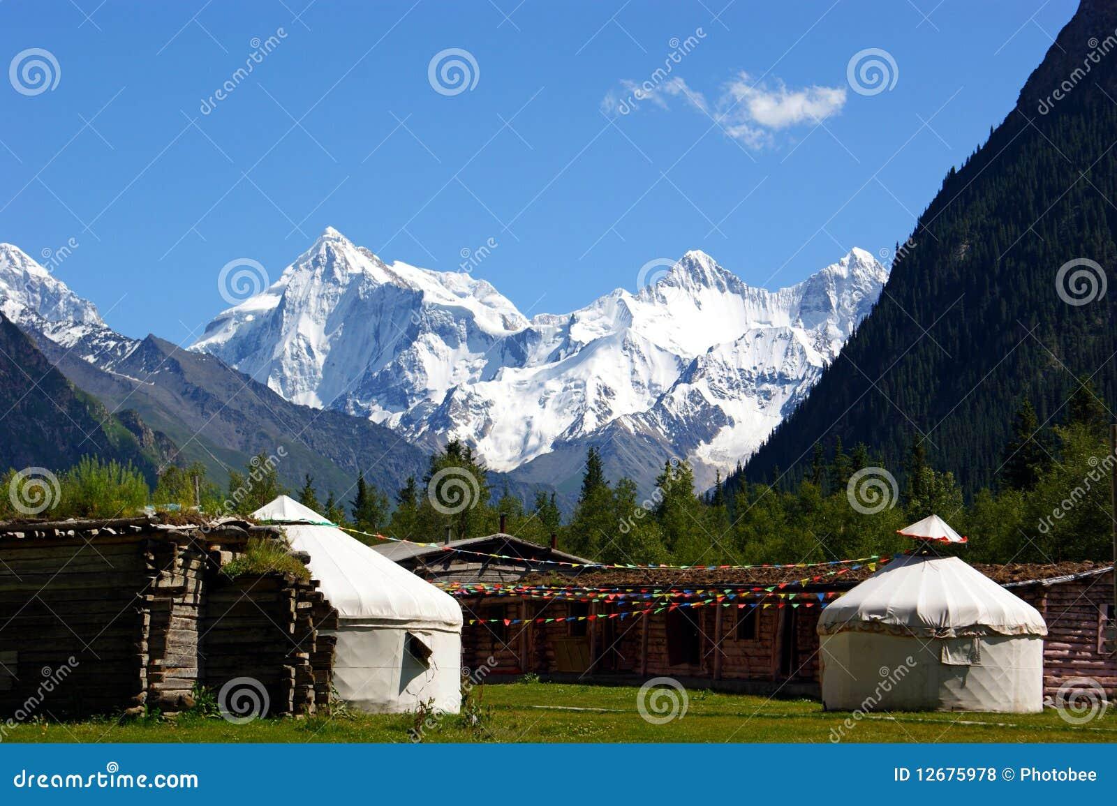 Yurt de la montaña
