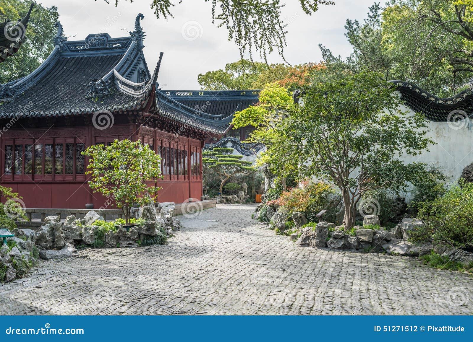 Yuyuan ogród Szanghaj Chiny