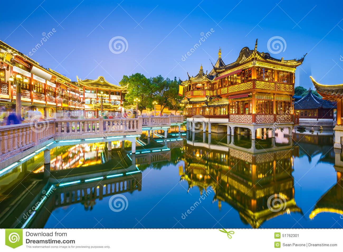 Yuyuan Shanghai Stock Photo - Image: 51762301