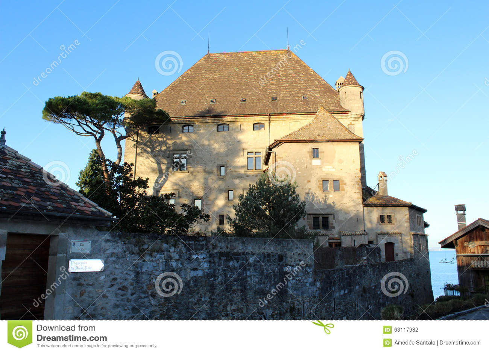 Yvoire in Frankrijk