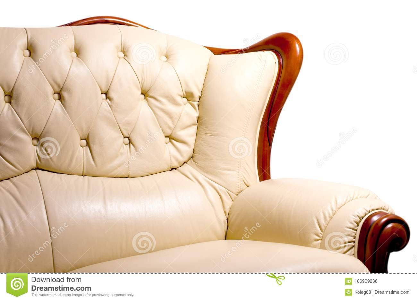 Żywa izbowa meblarska rzemienna kanapa