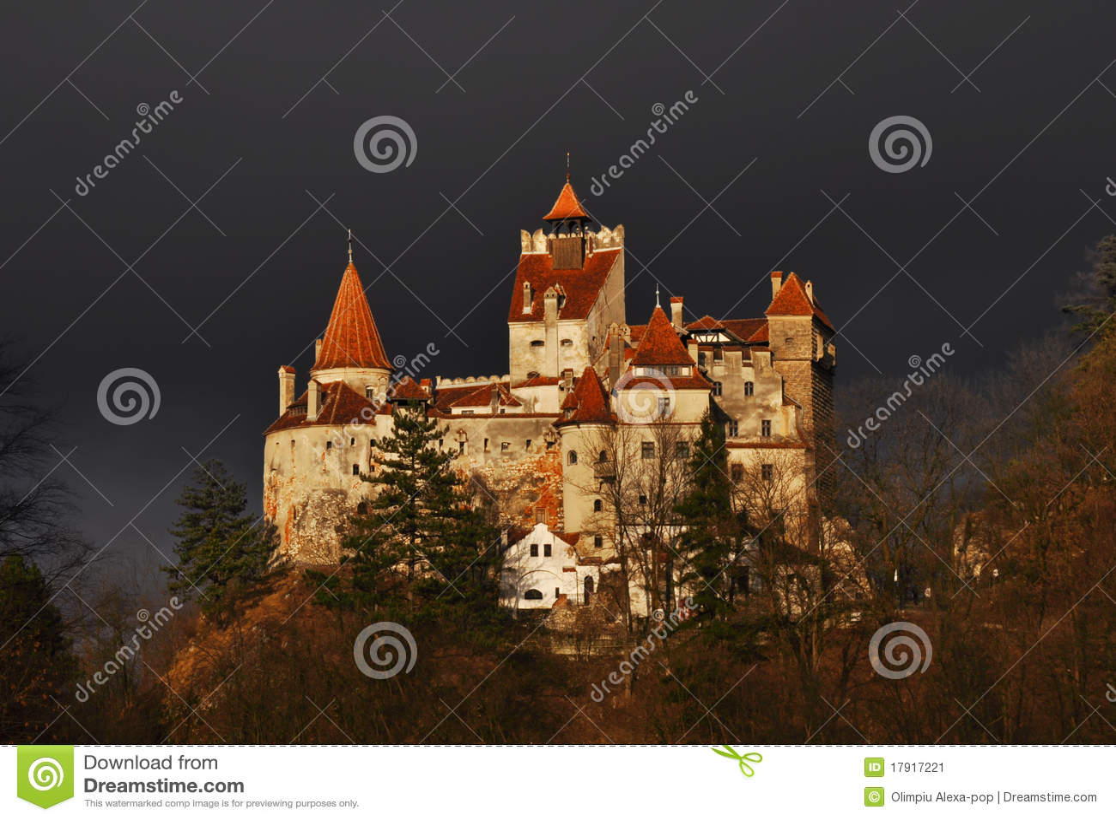 Zählimpuls-Draculas Schloss
