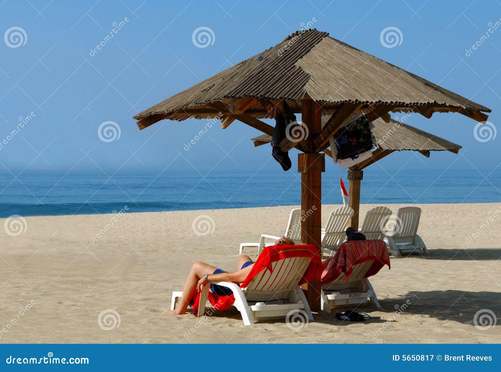 Złagodzenie na plaży
