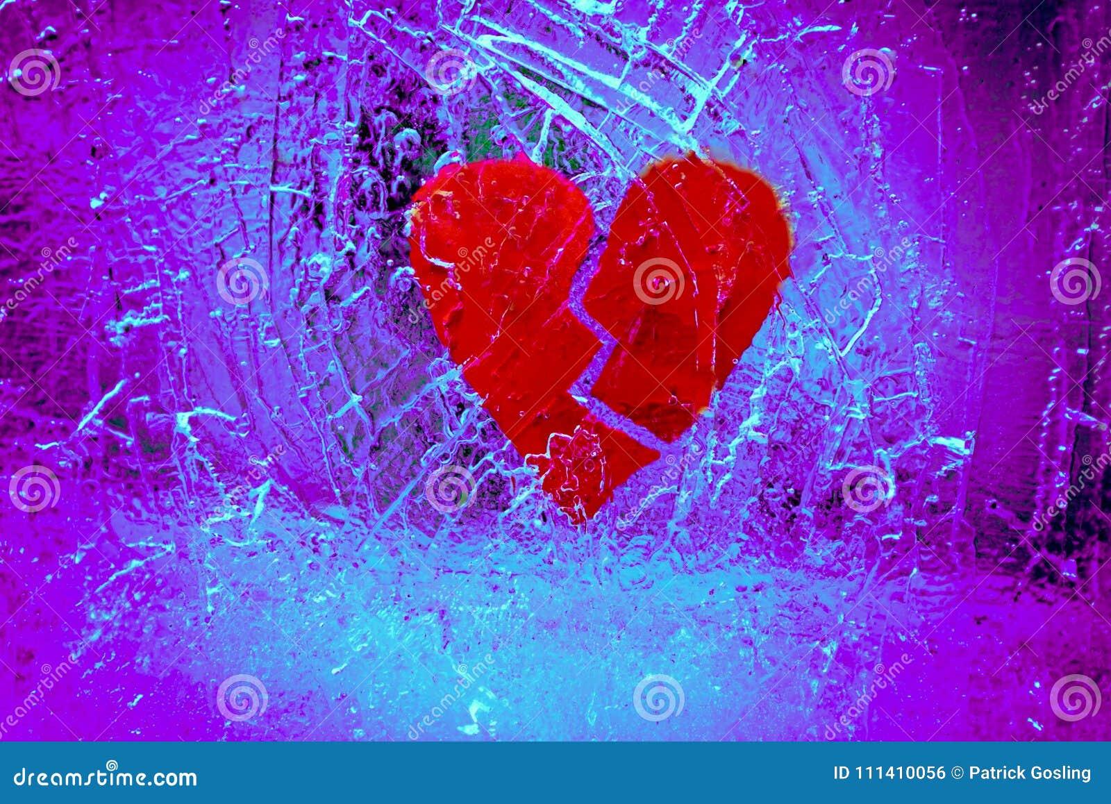Złamane serce w krakingowym lodzie