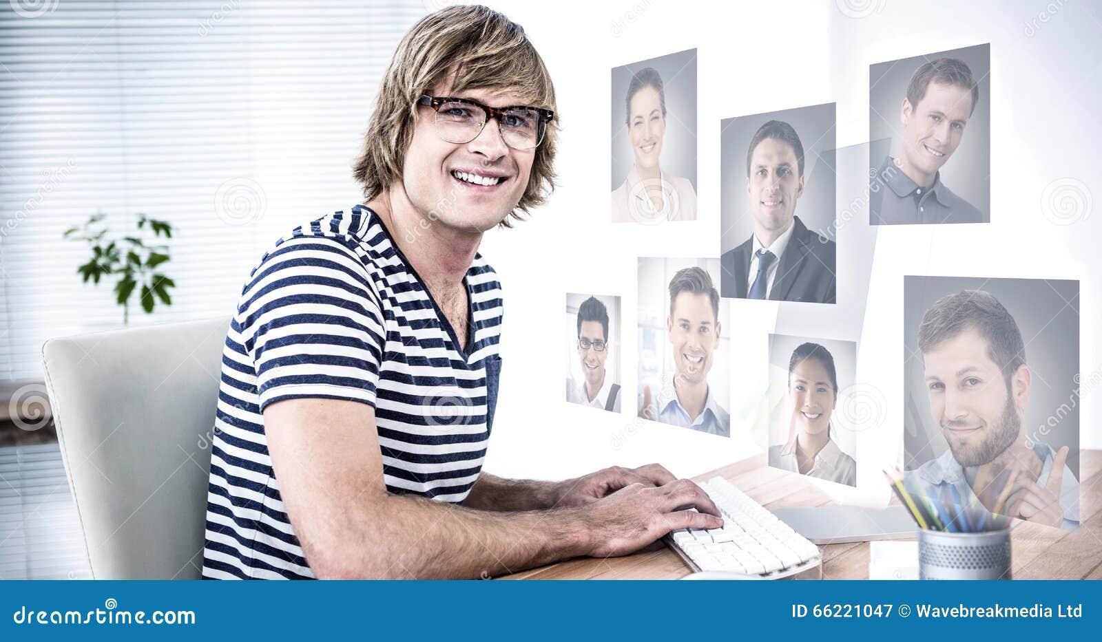Złożony wizerunek profilowi obrazki