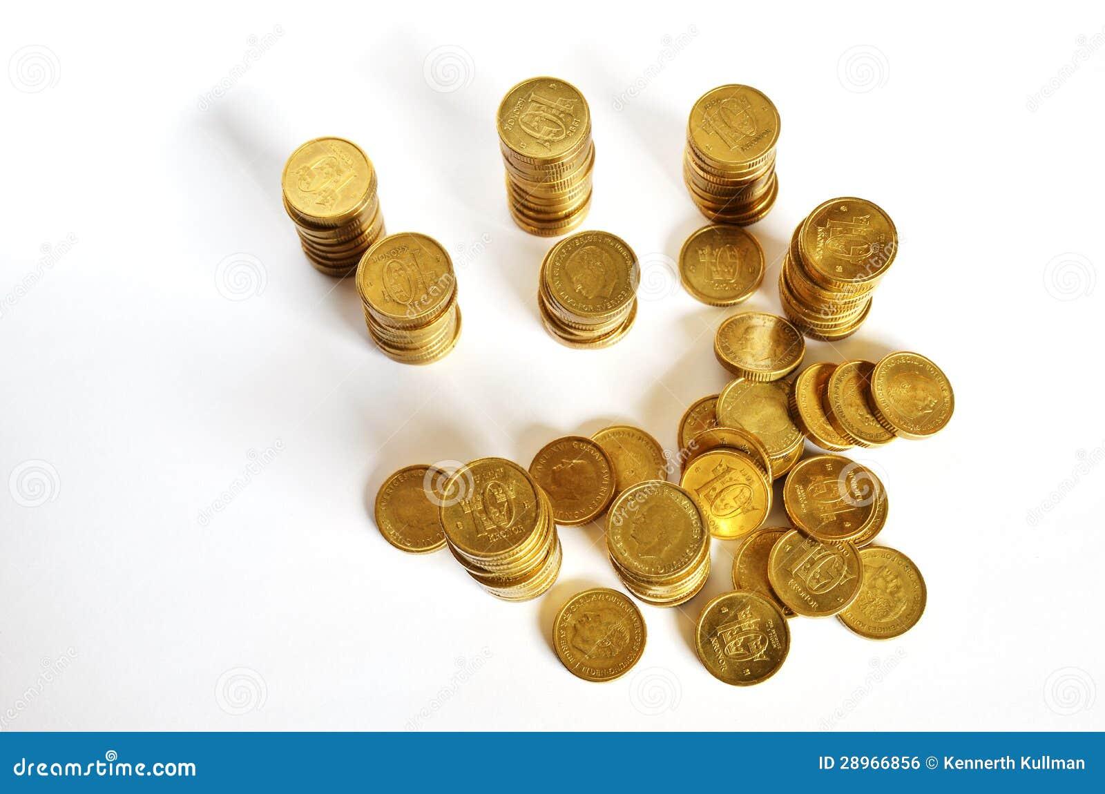 Złoci monet oszczędzania