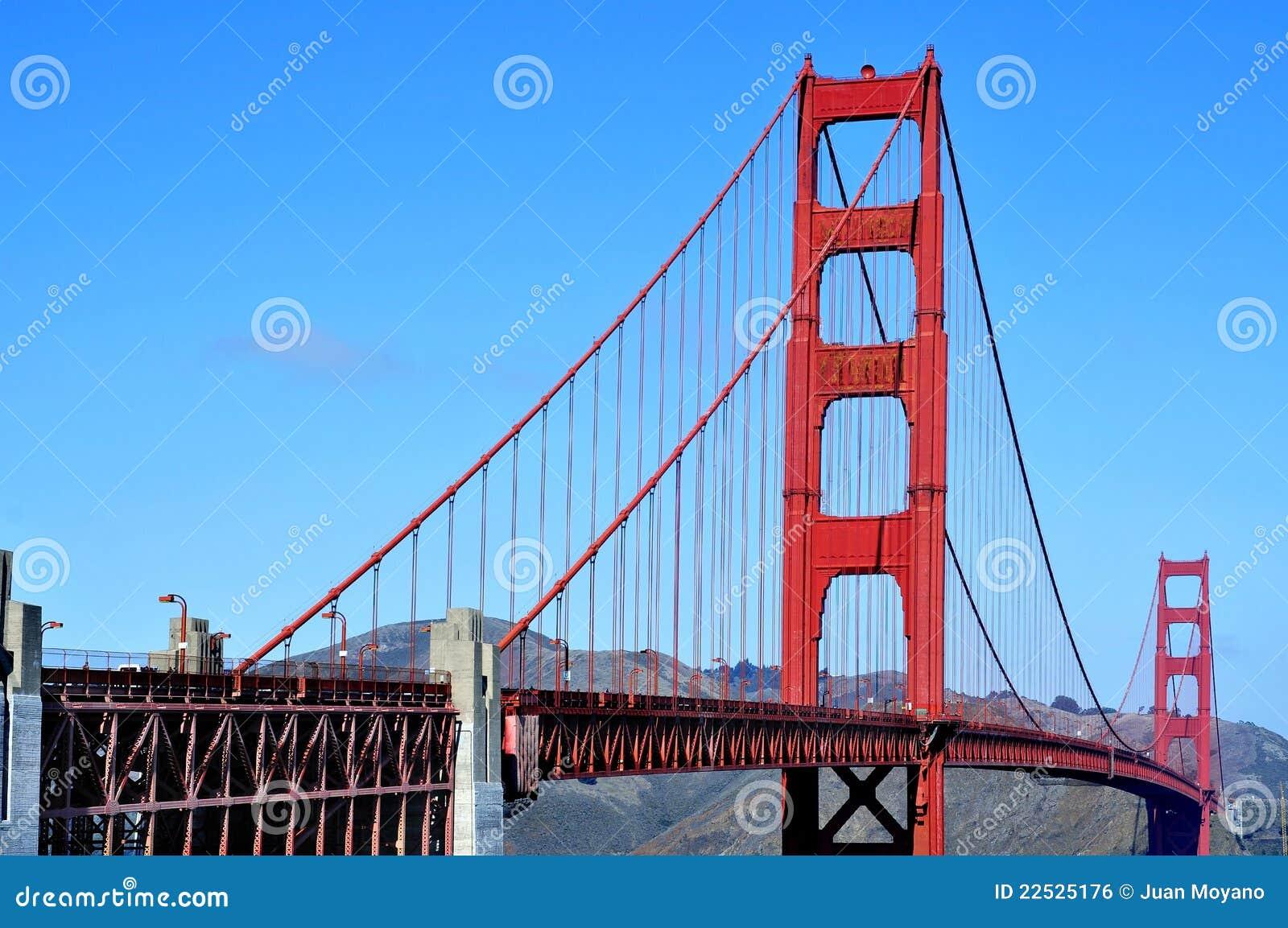 Złoci Wrota Most, San Fransisco, Stany Zjednoczone