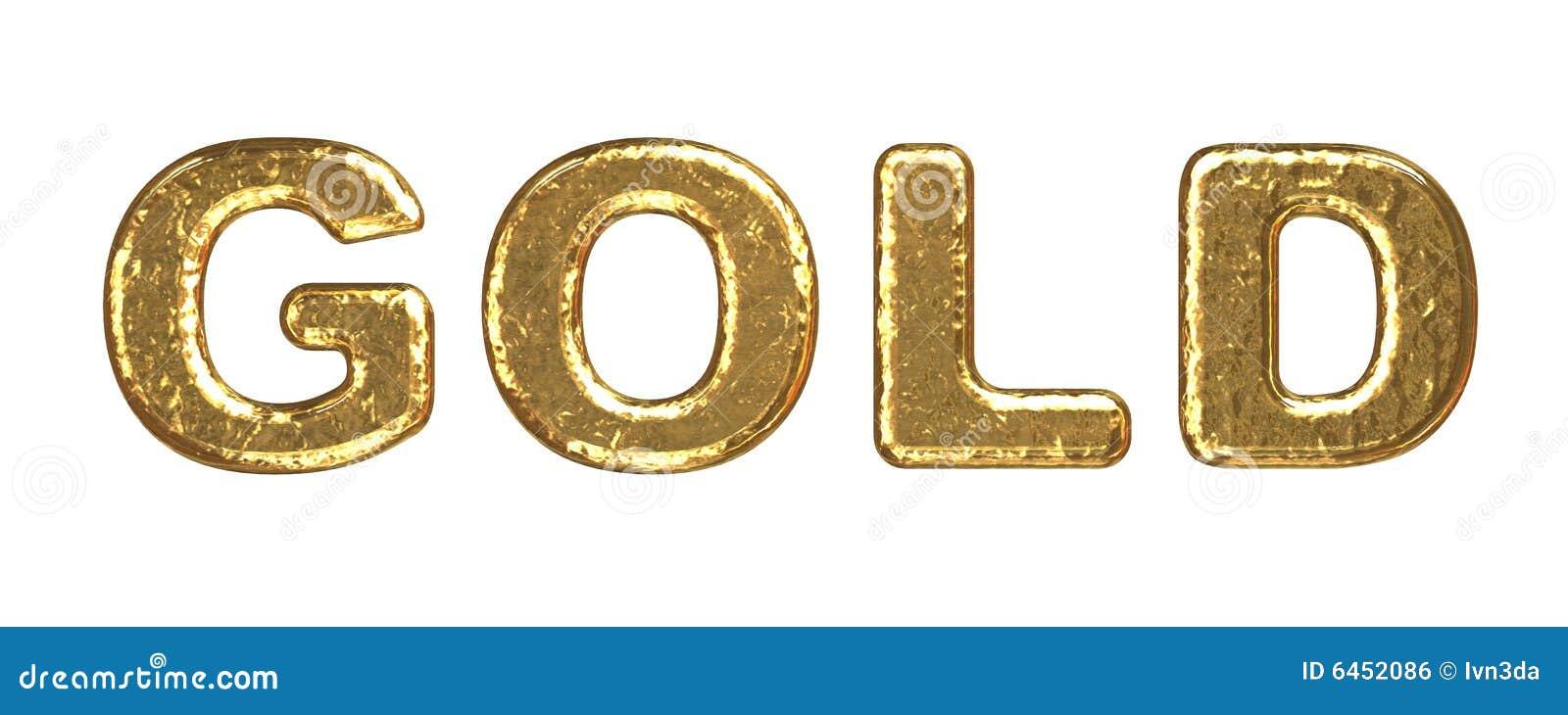 Złota wpisowa tekstury objętości