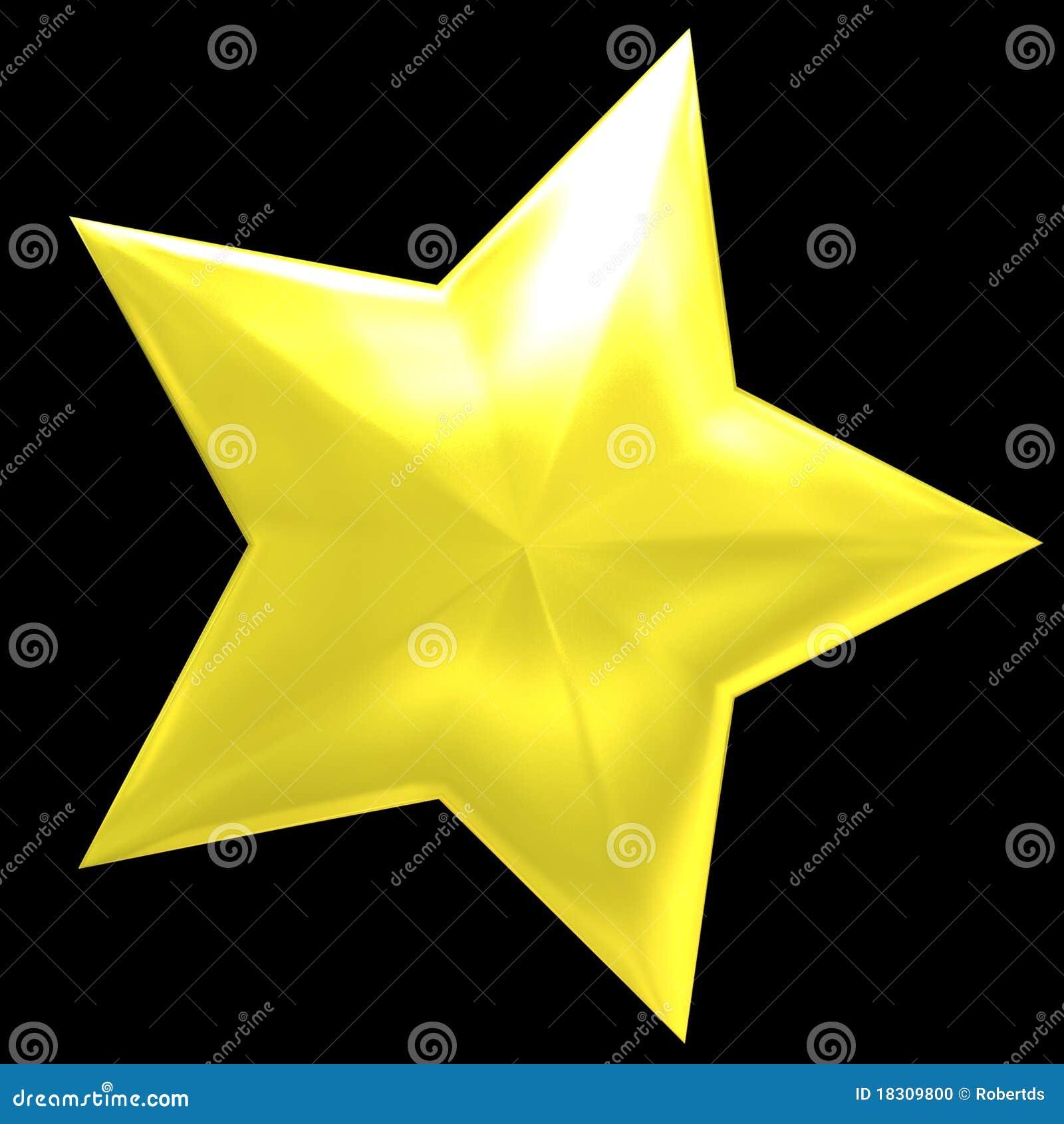 Złoto gwiazda