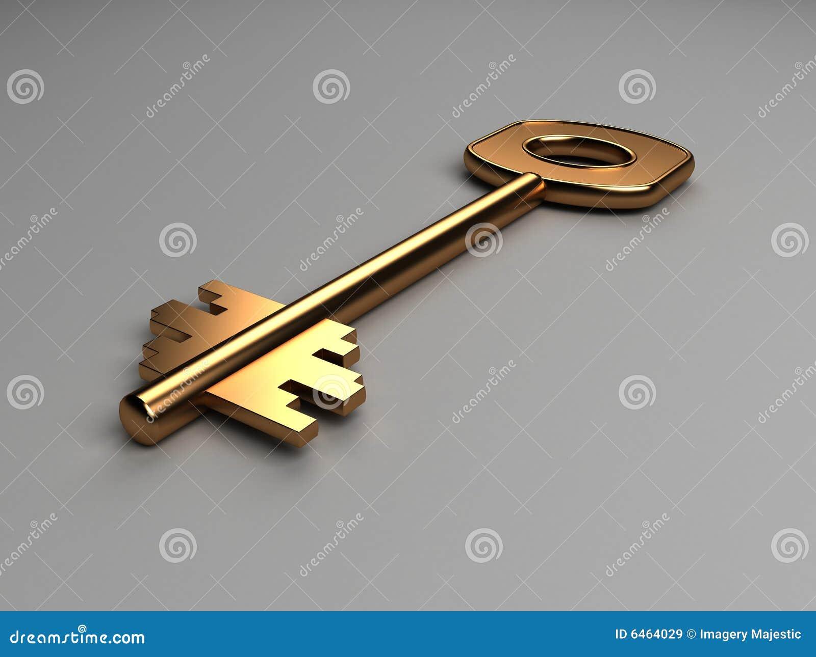 Złoto wymiarowej klucz 3