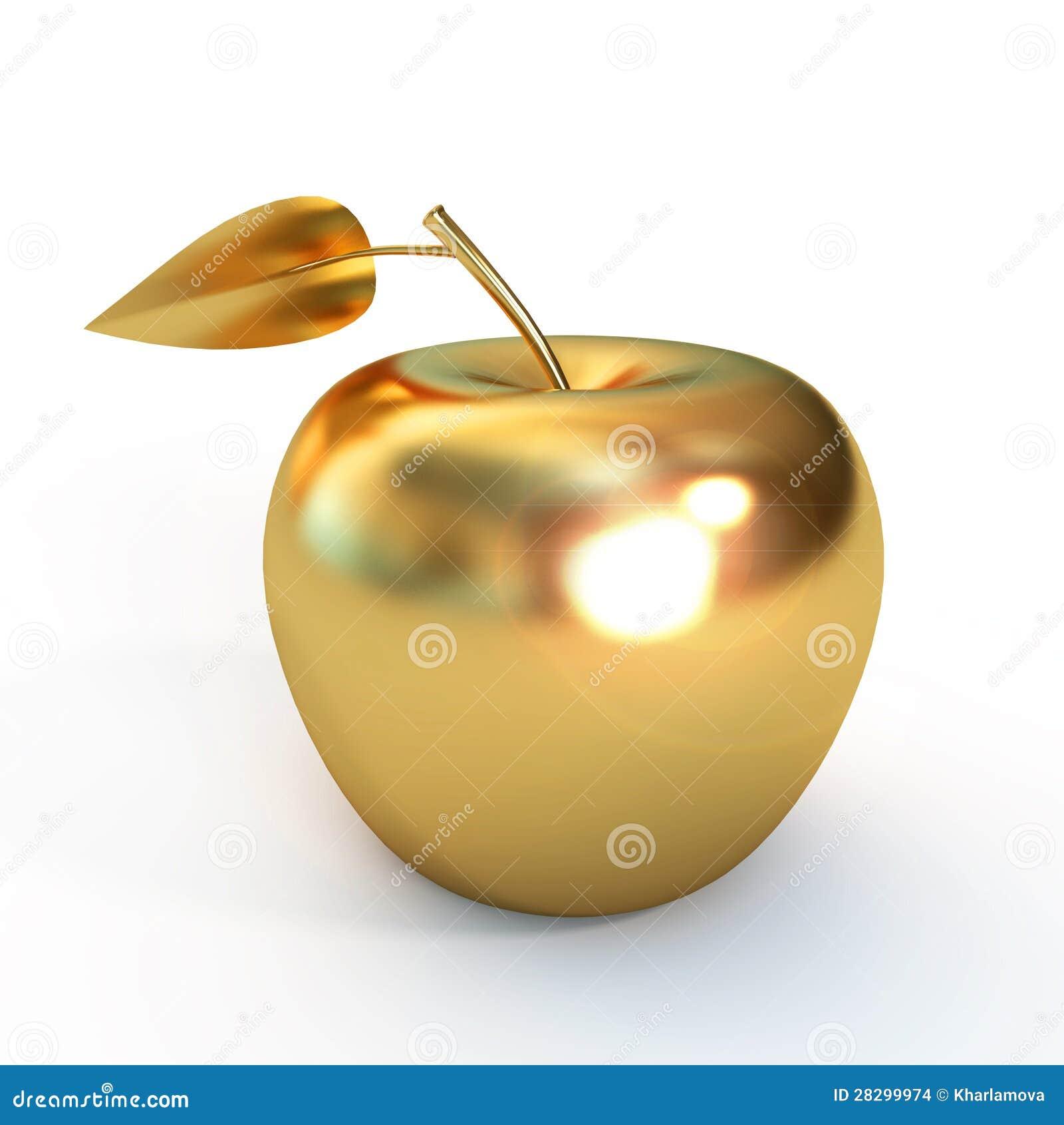 Złoty jabłko
