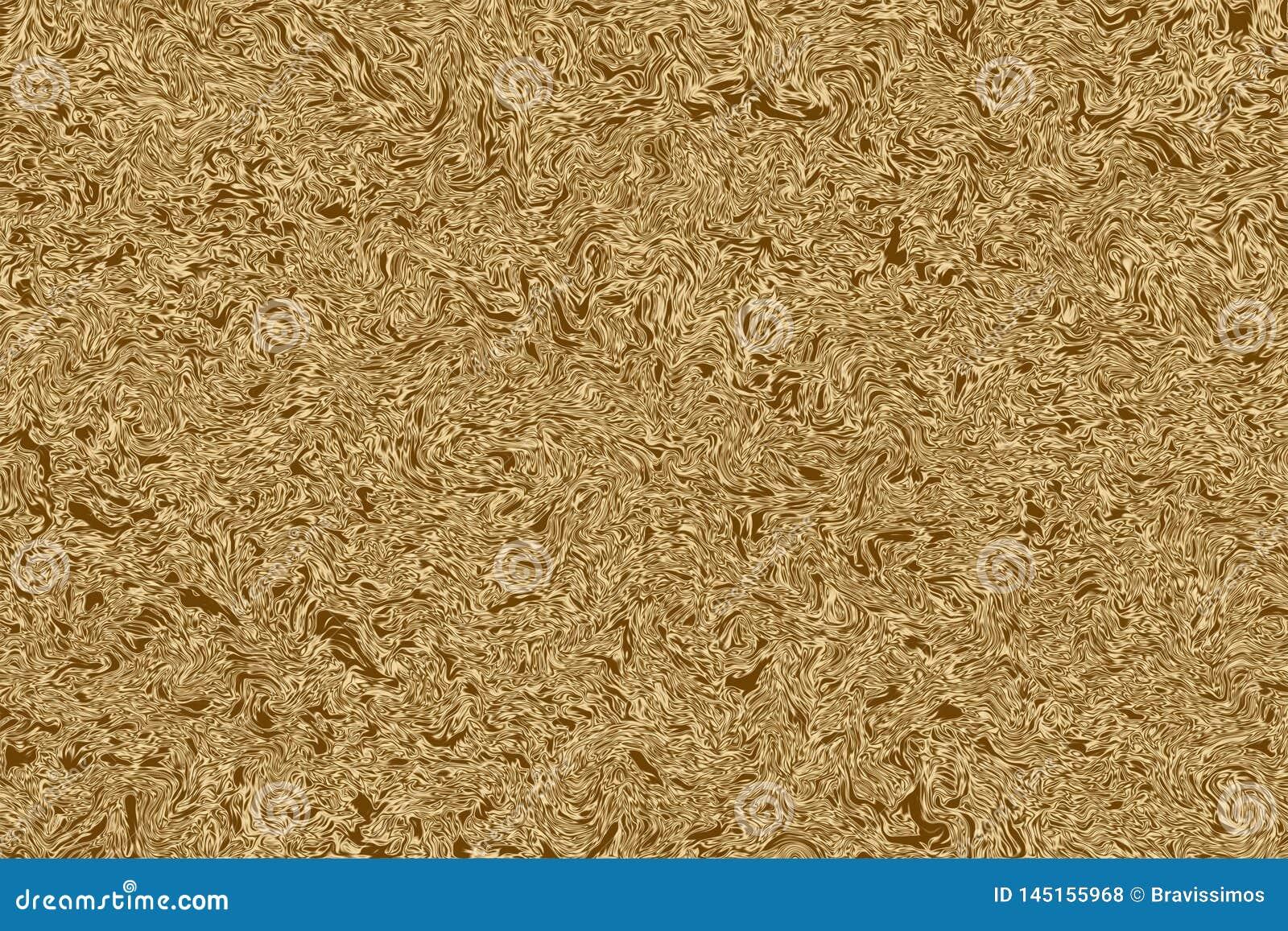 Złoty półkowy tło i błyszczący złocisty materiał, tekstura aliaż