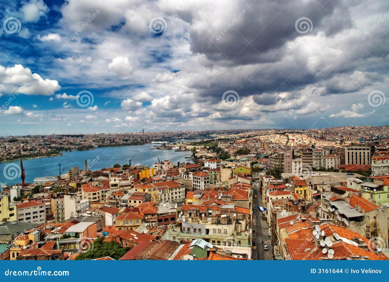 Złoty róg Istanbul indyk