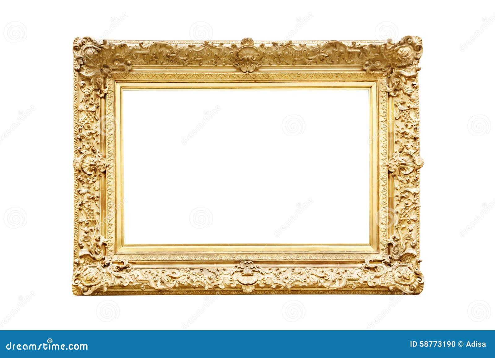 Złoty ramowy