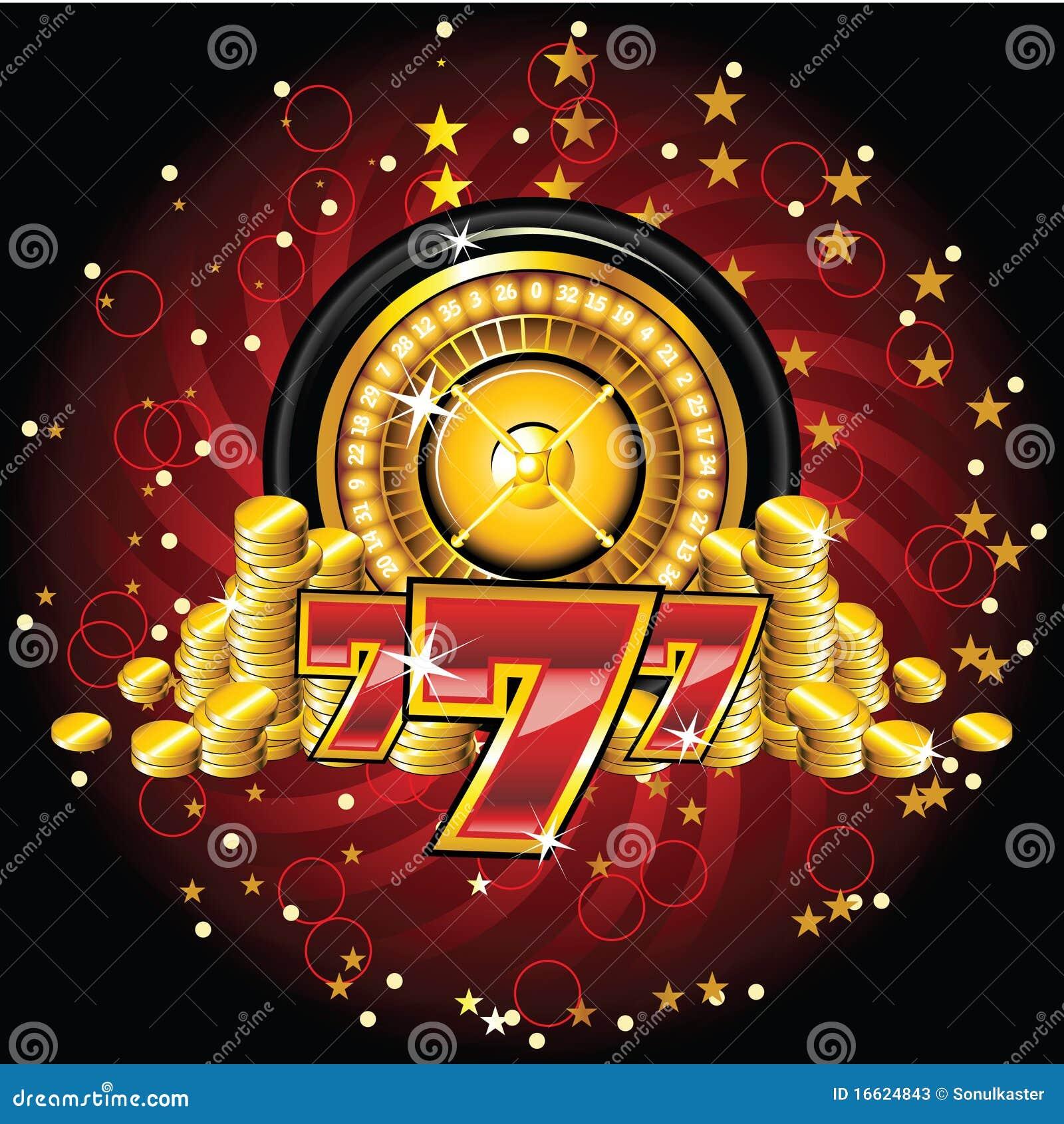 Złoty ruletowy koło
