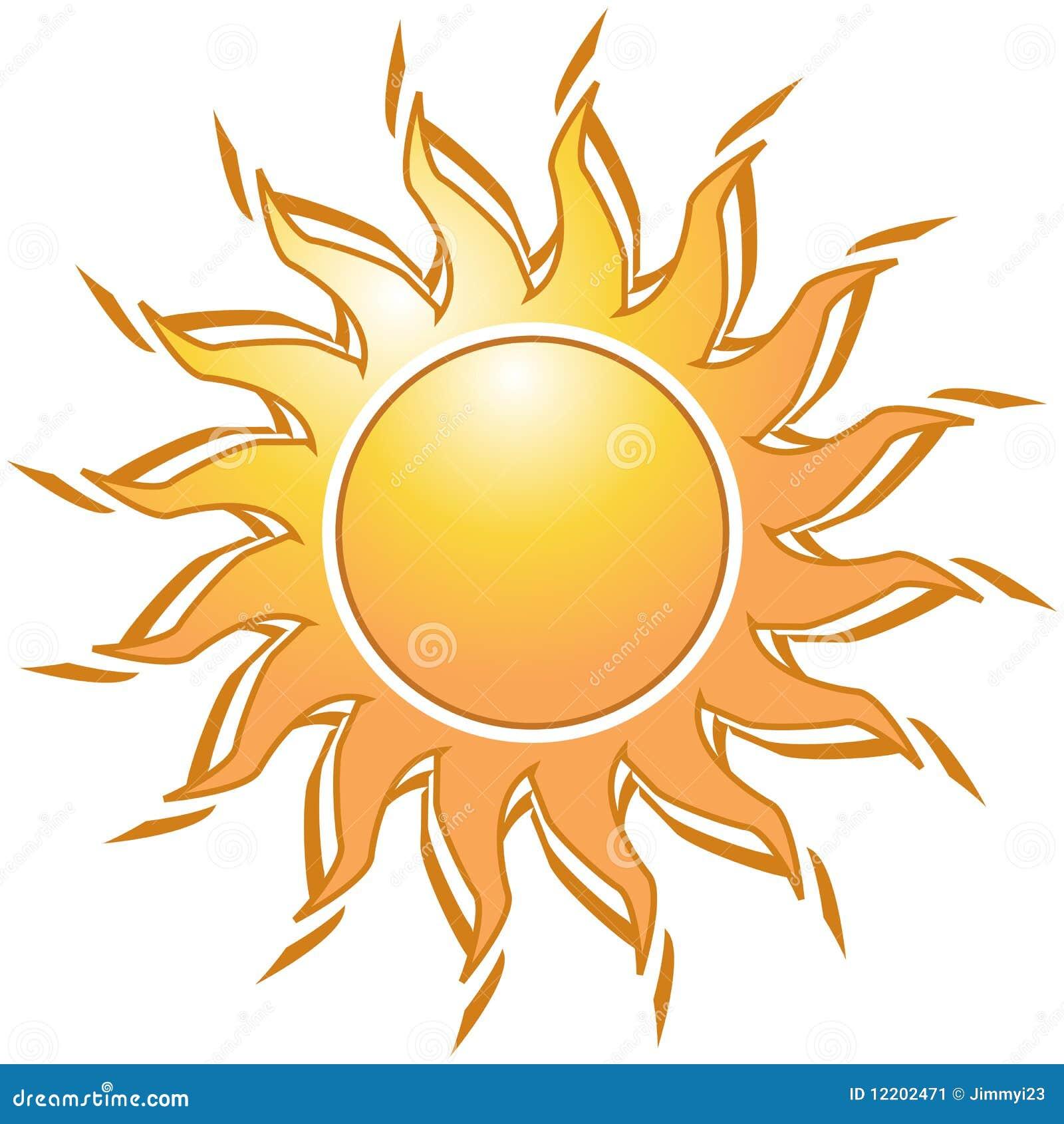 Złoty słońce