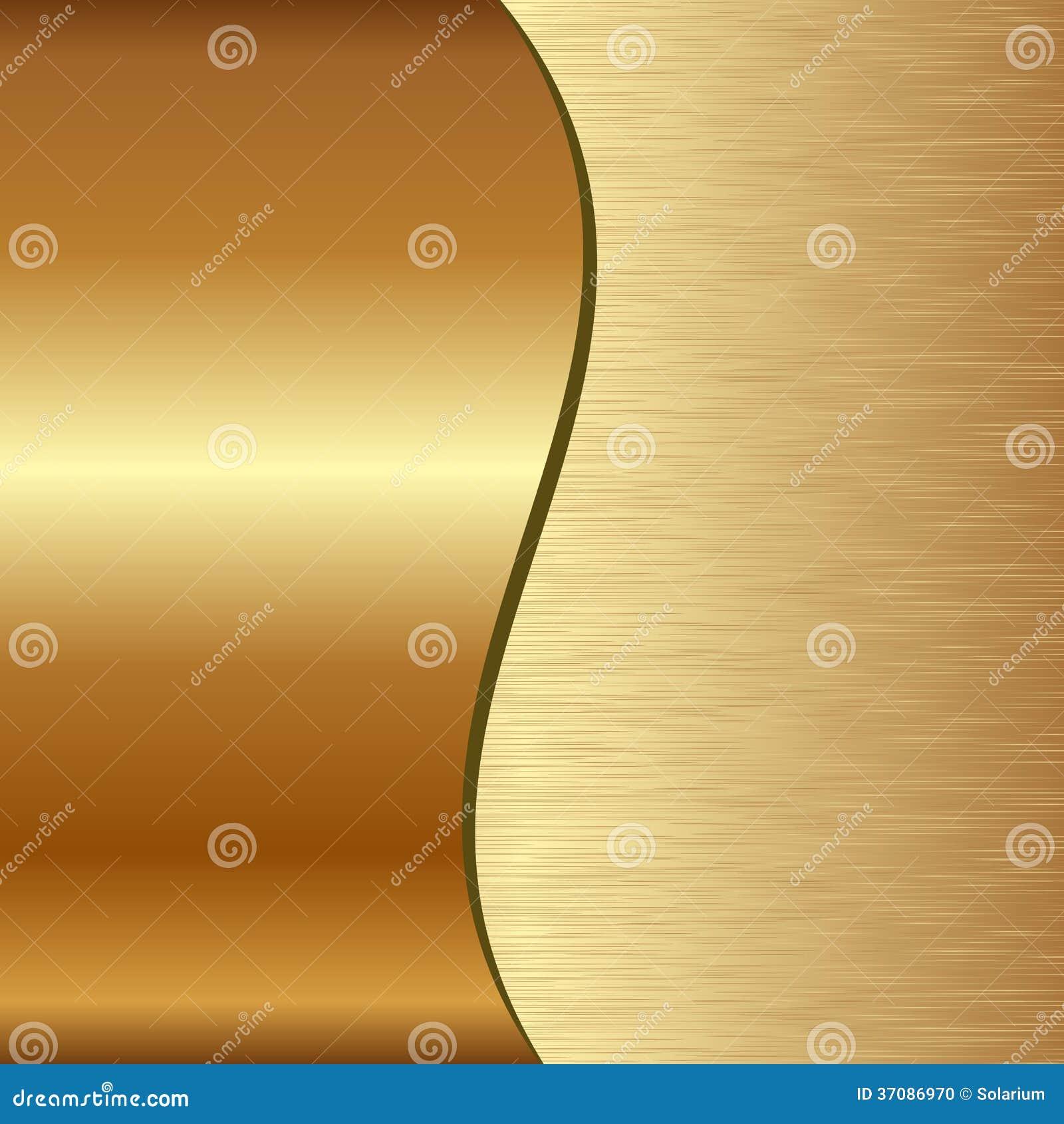 Download Złoty tło ilustracja wektor. Ilustracja złożonej z yellow - 37086970