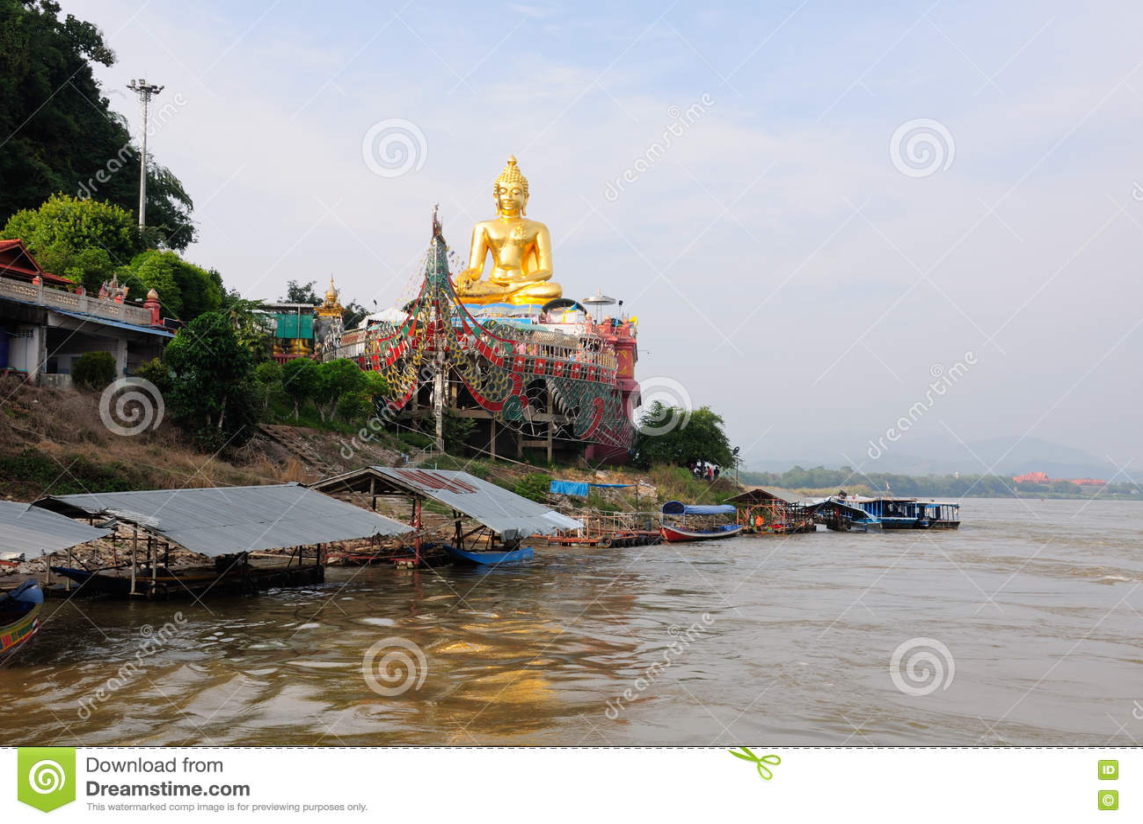 Złoty trójbok Buddha Tajlandia