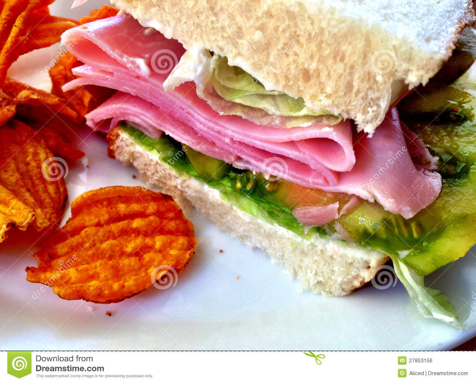 Z batatów układ scalony baleron kanapka