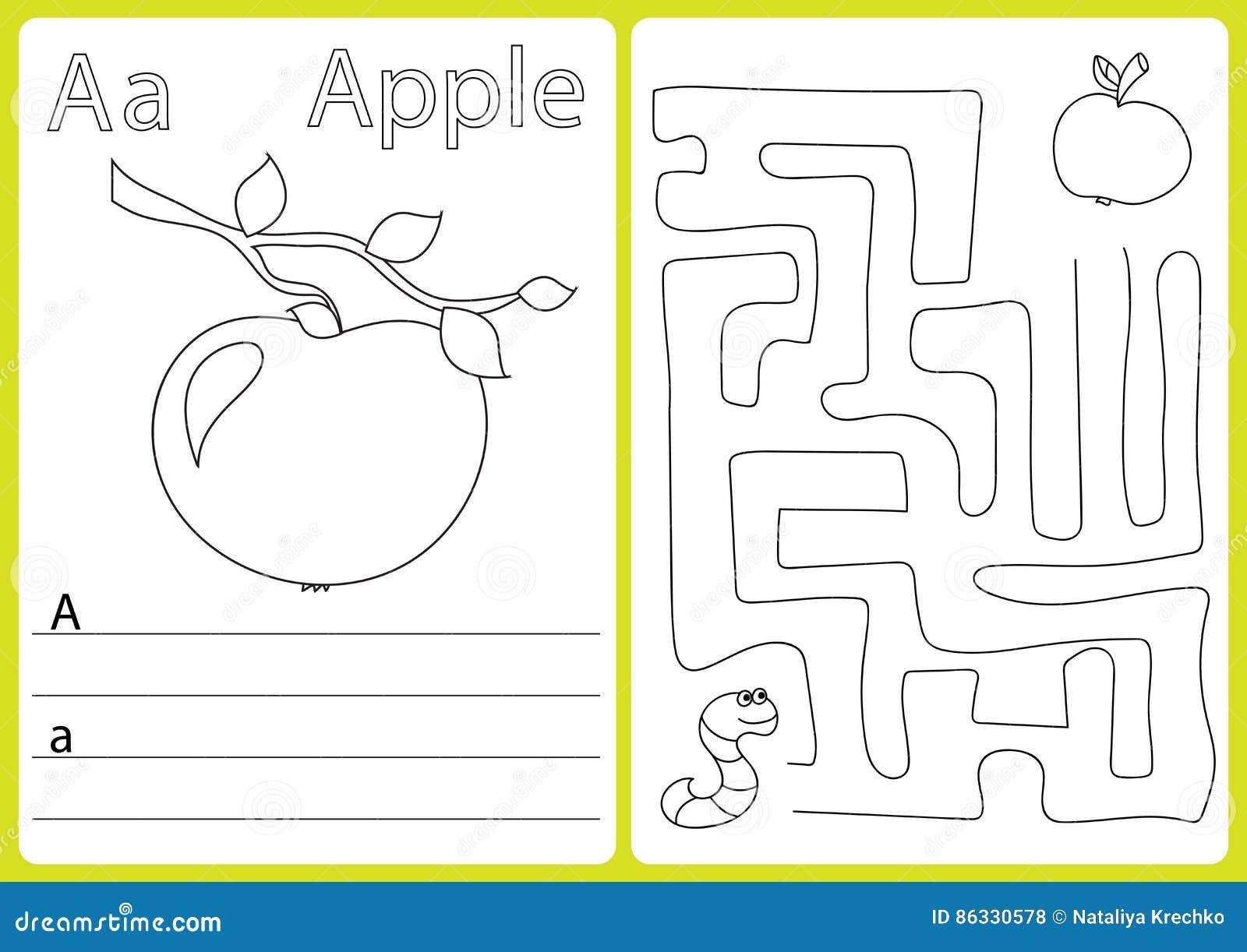 Increíble Hojas De Trabajo Del Alfabeto Trazables Ideas - hoja de ...