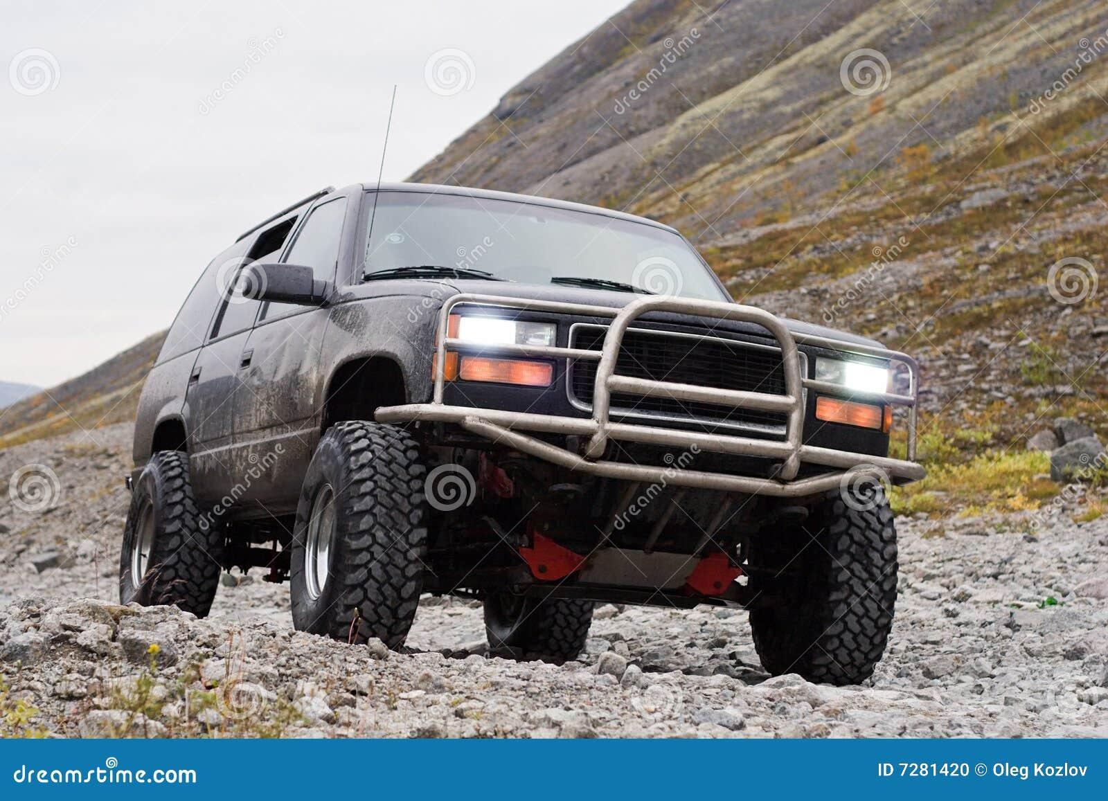 Z drogi samochodowa tło góra