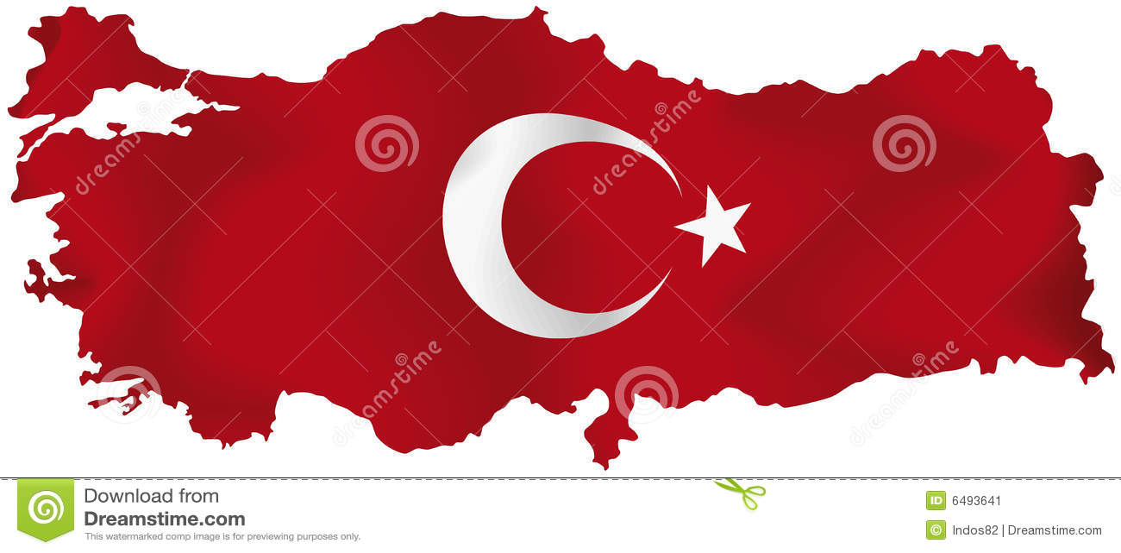 Z flaga indycza mapa