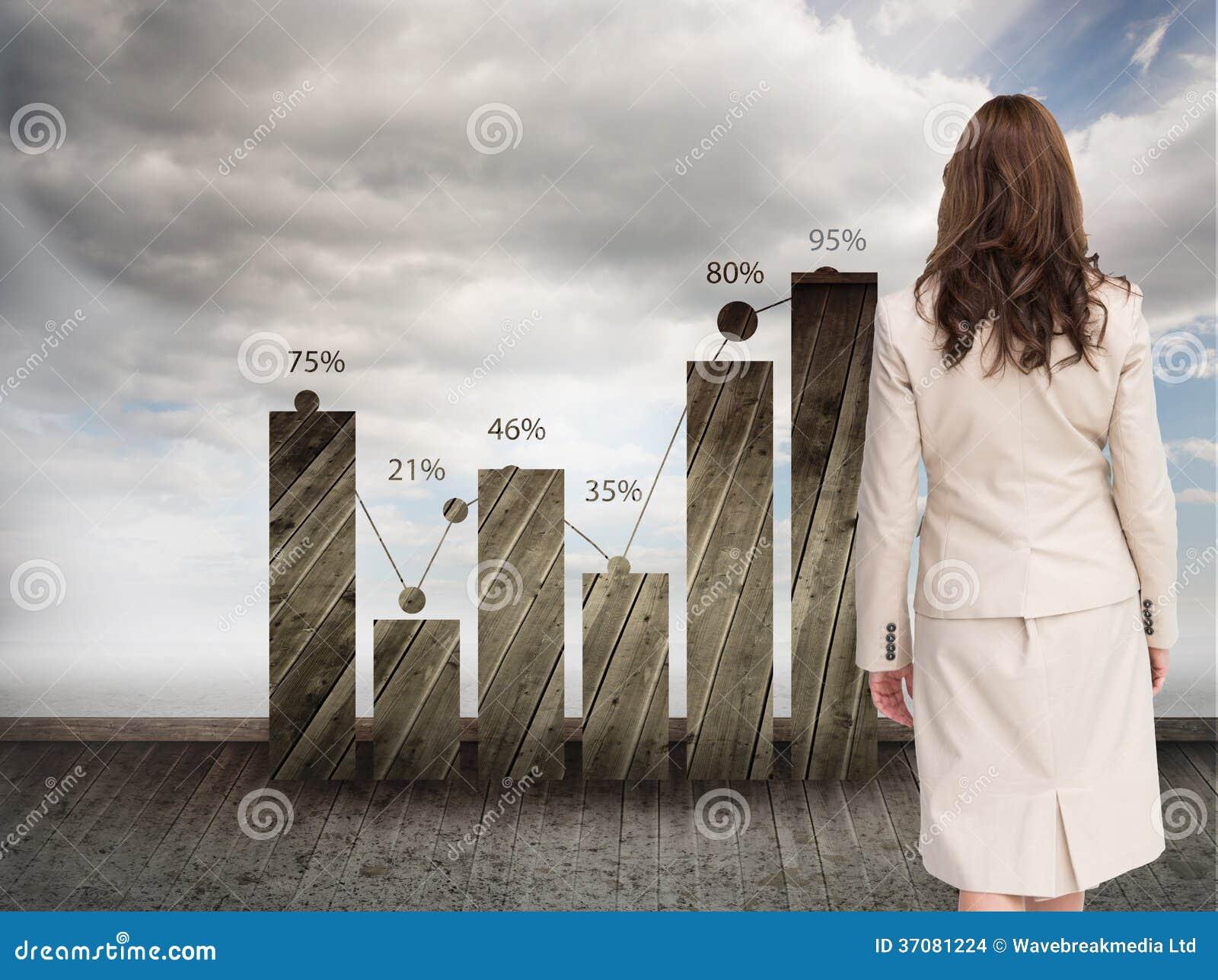 Download Z Klasą Bizneswomanu Odprowadzenie Zdala Od Kamery Zdjęcie Stock - Obraz złożonej z dane, most: 37081224