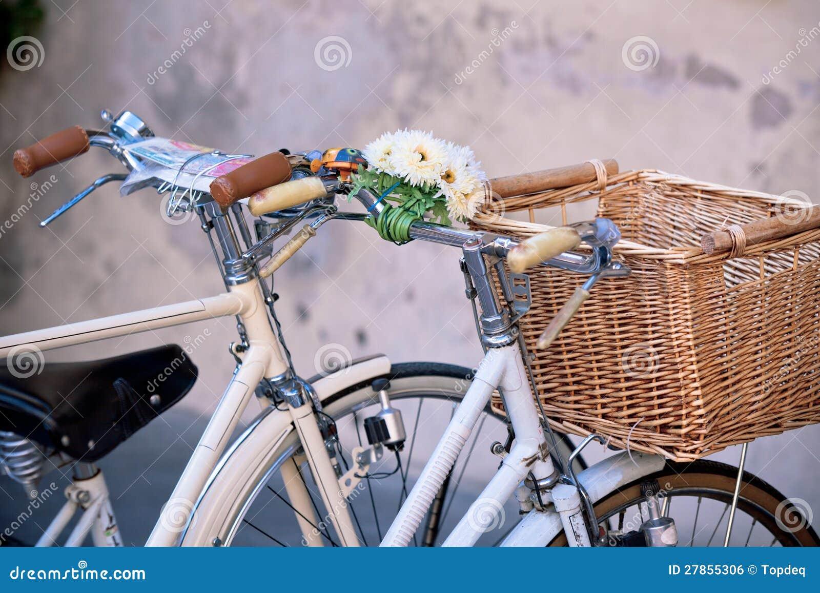 Z Koszem biały Bicykle