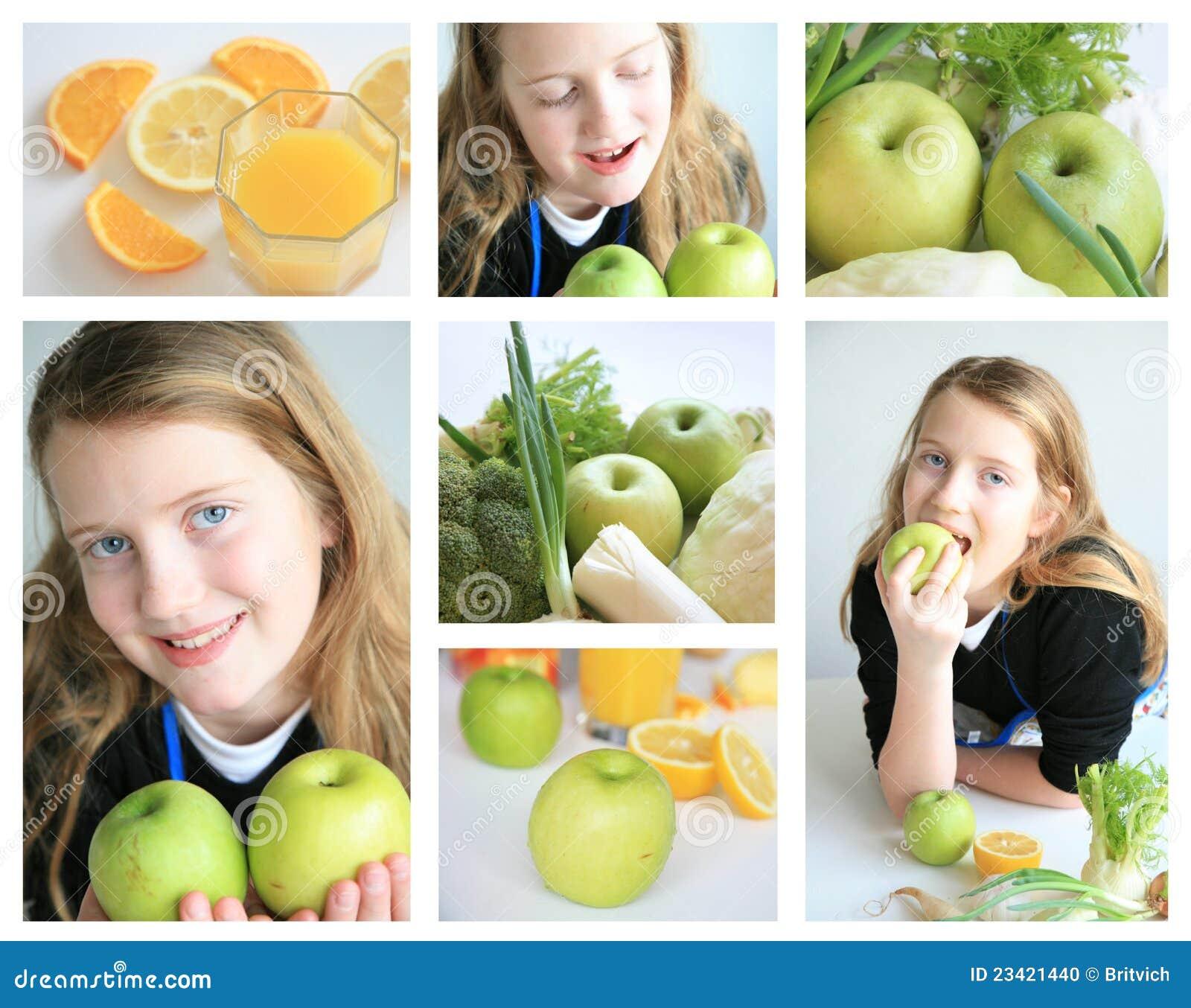 Z owoc szczęśliwa dziewczyna