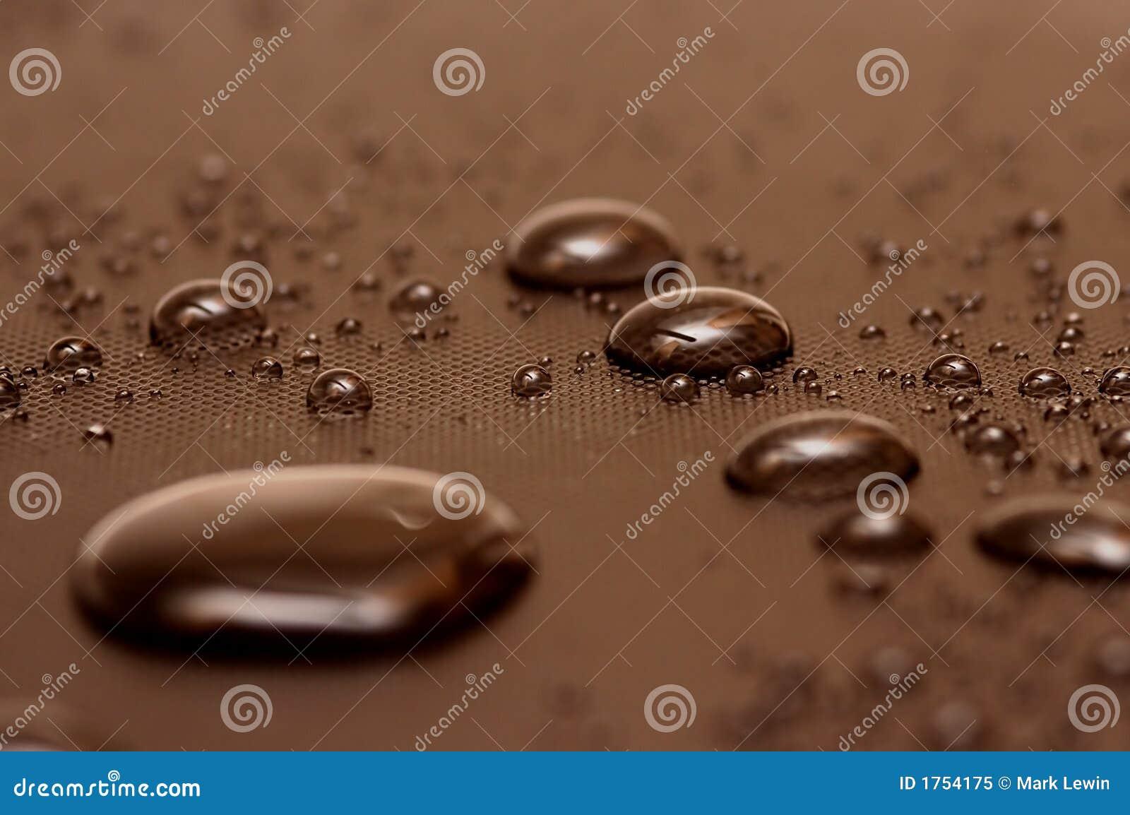 Z paciorkami kroplę wody