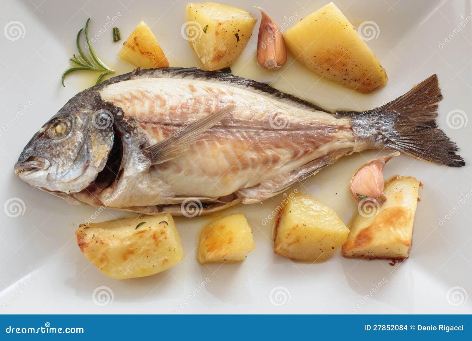 Z warzywami piec ryba